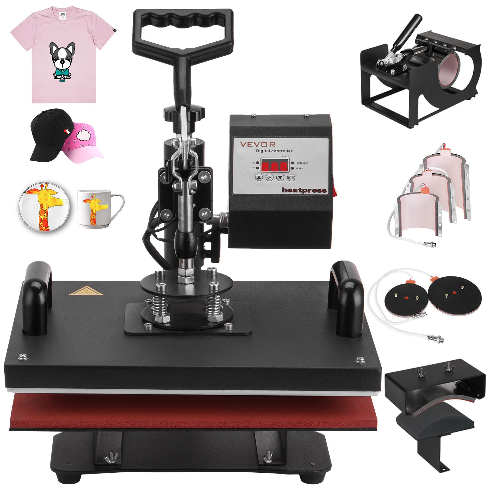 8 In 1 Heat Press Machine Digital Transfer Sublimation T