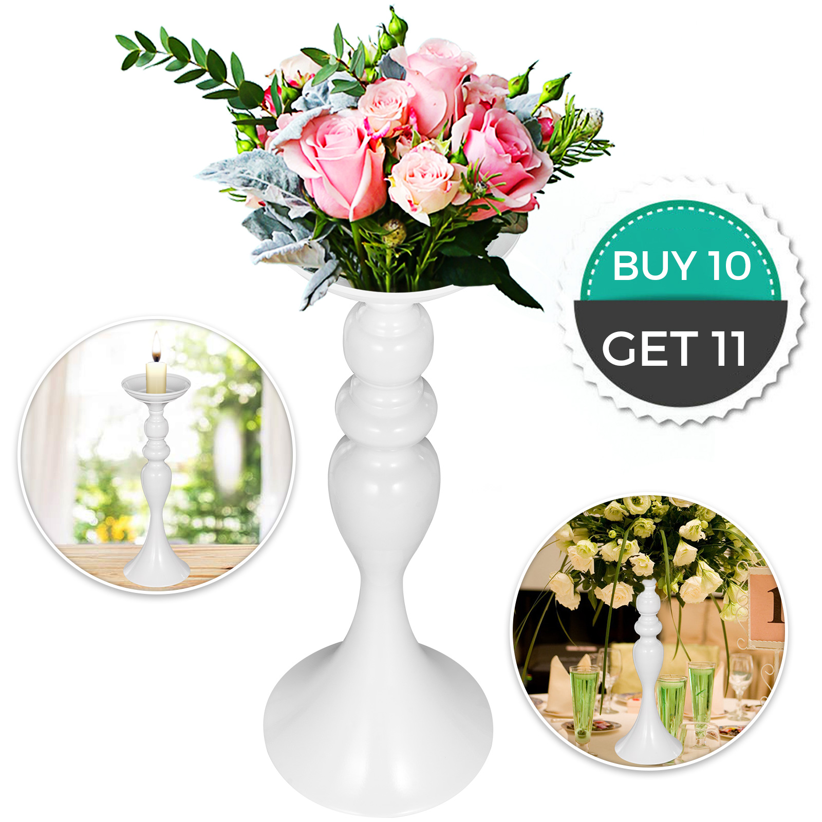 Flower-Rack-for-Wedding-Metal-Candle-Stand-4-11pcs-Centerpiece-Flower-Vase thumbnail 169