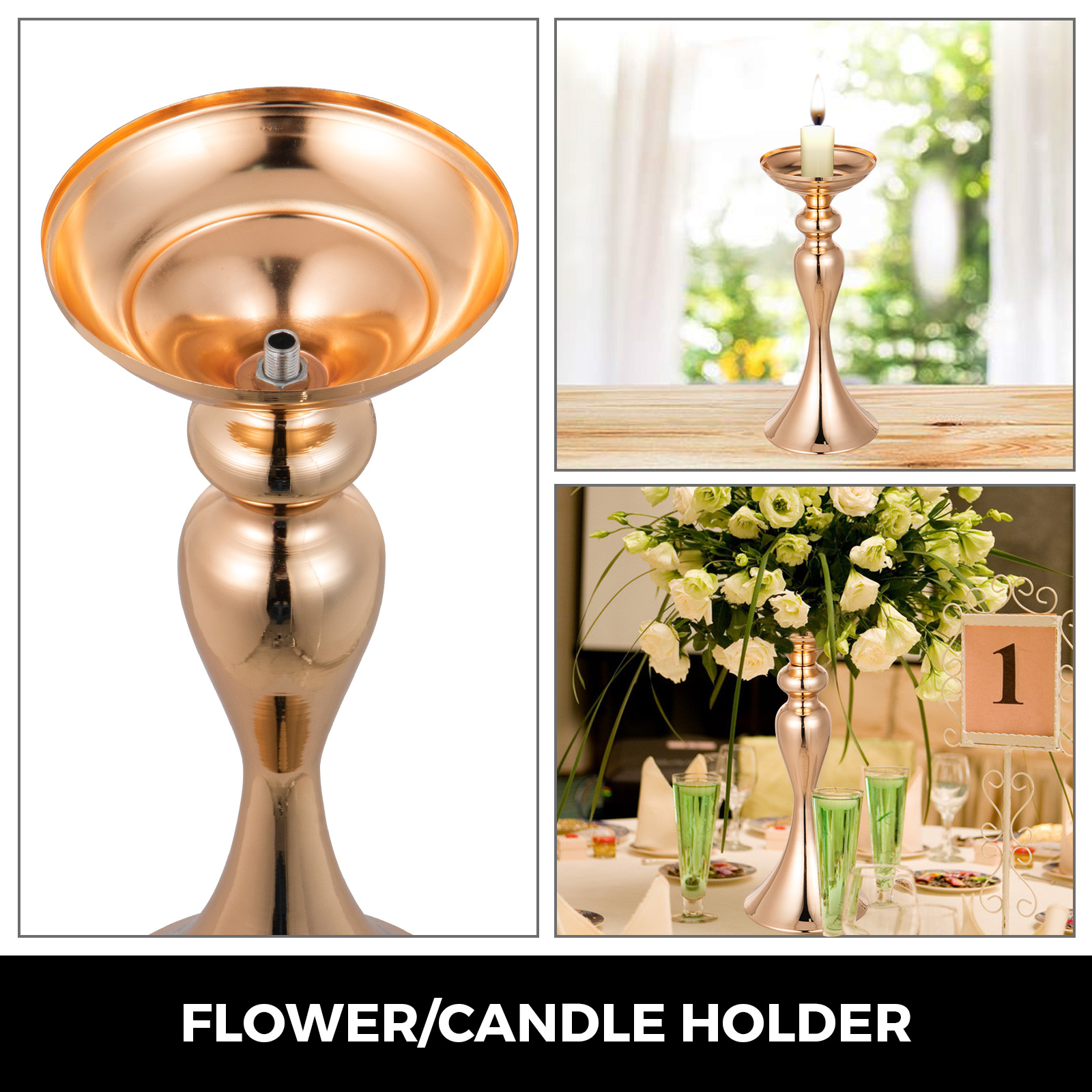 Flower-Rack-for-Wedding-Metal-Candle-Stand-4-11pcs-Centerpiece-Flower-Vase thumbnail 183