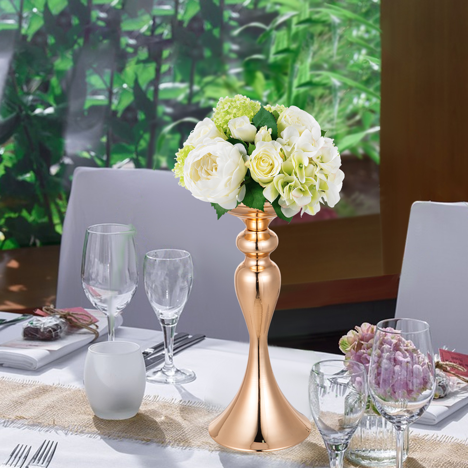 Flower-Rack-for-Wedding-Metal-Candle-Stand-4-11pcs-Centerpiece-Flower-Vase thumbnail 189
