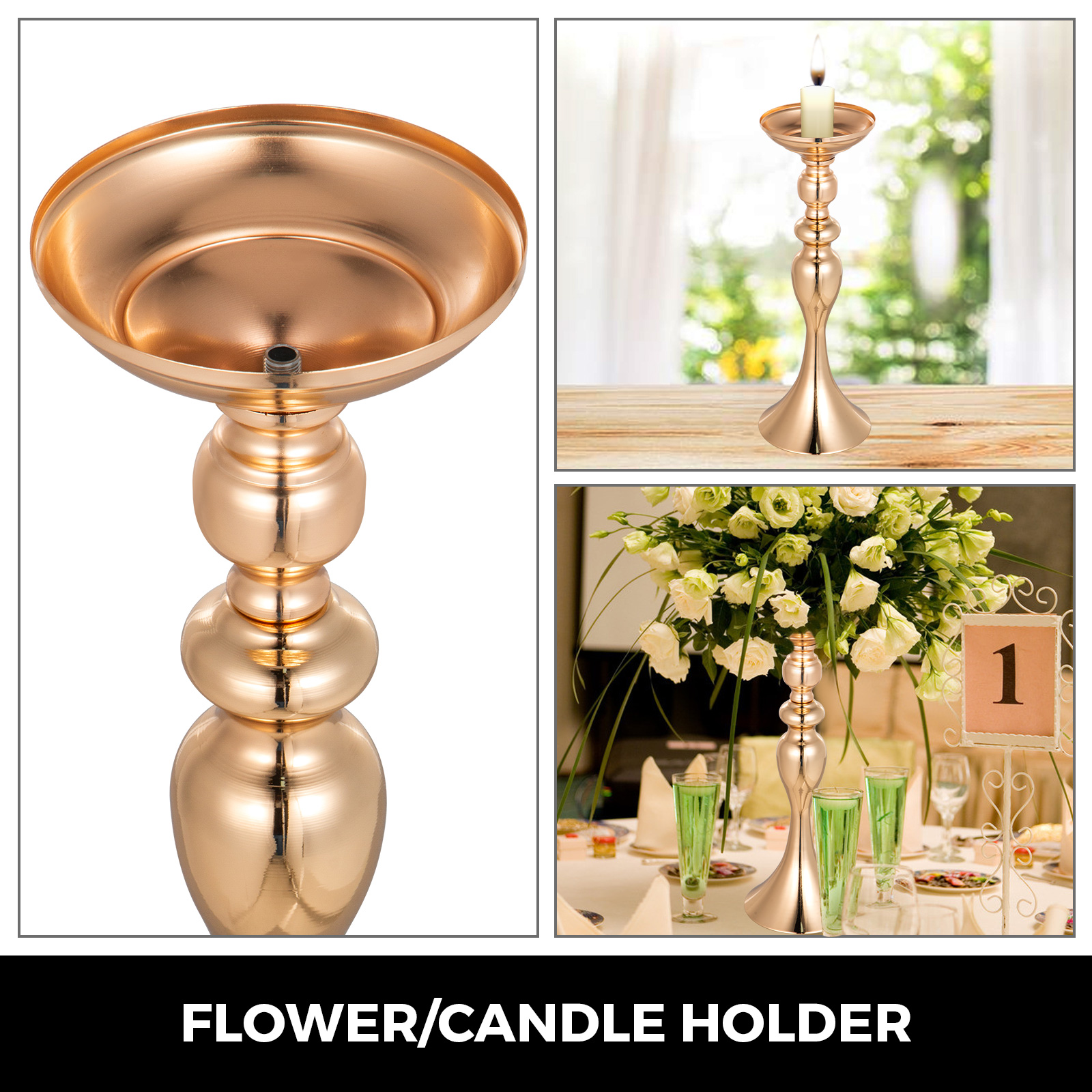 Flower-Rack-for-Wedding-Metal-Candle-Stand-4-11pcs-Centerpiece-Flower-Vase thumbnail 147