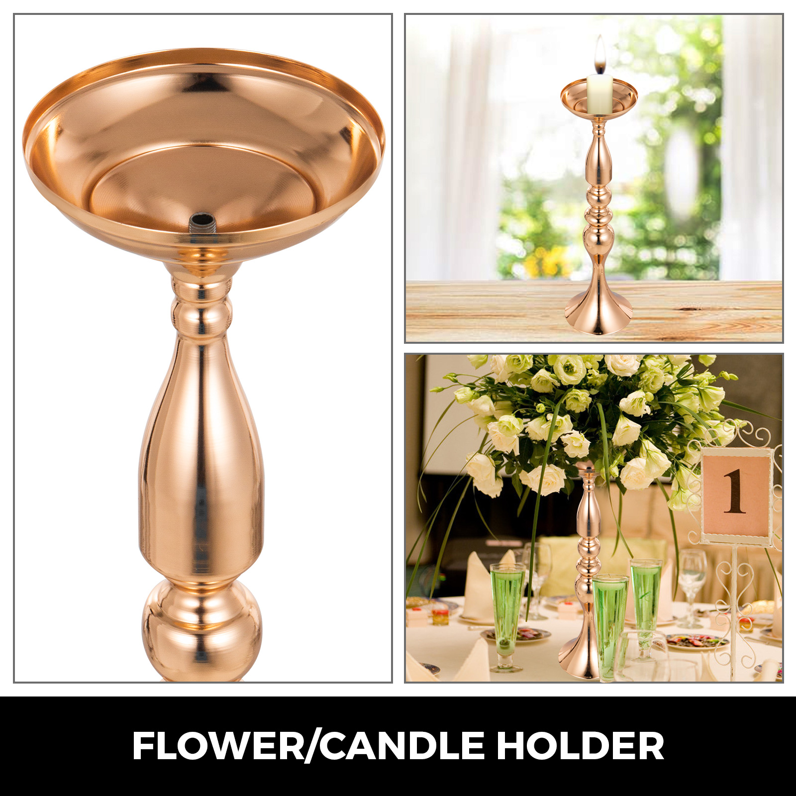 Flower-Rack-for-Wedding-Metal-Candle-Stand-4-11pcs-Centerpiece-Flower-Vase thumbnail 111