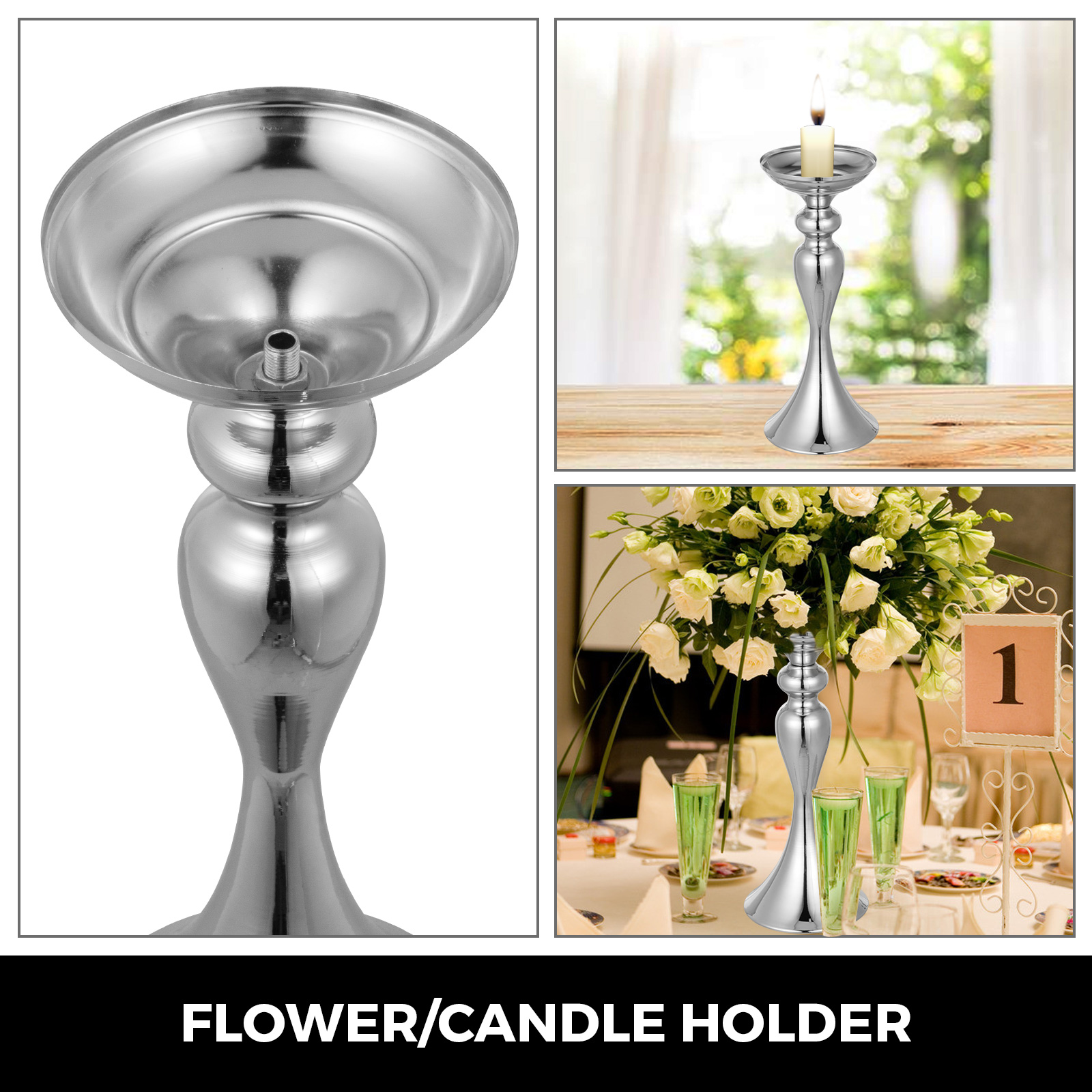 Flower-Rack-for-Wedding-Metal-Candle-Stand-4-11pcs-Centerpiece-Flower-Vase thumbnail 195