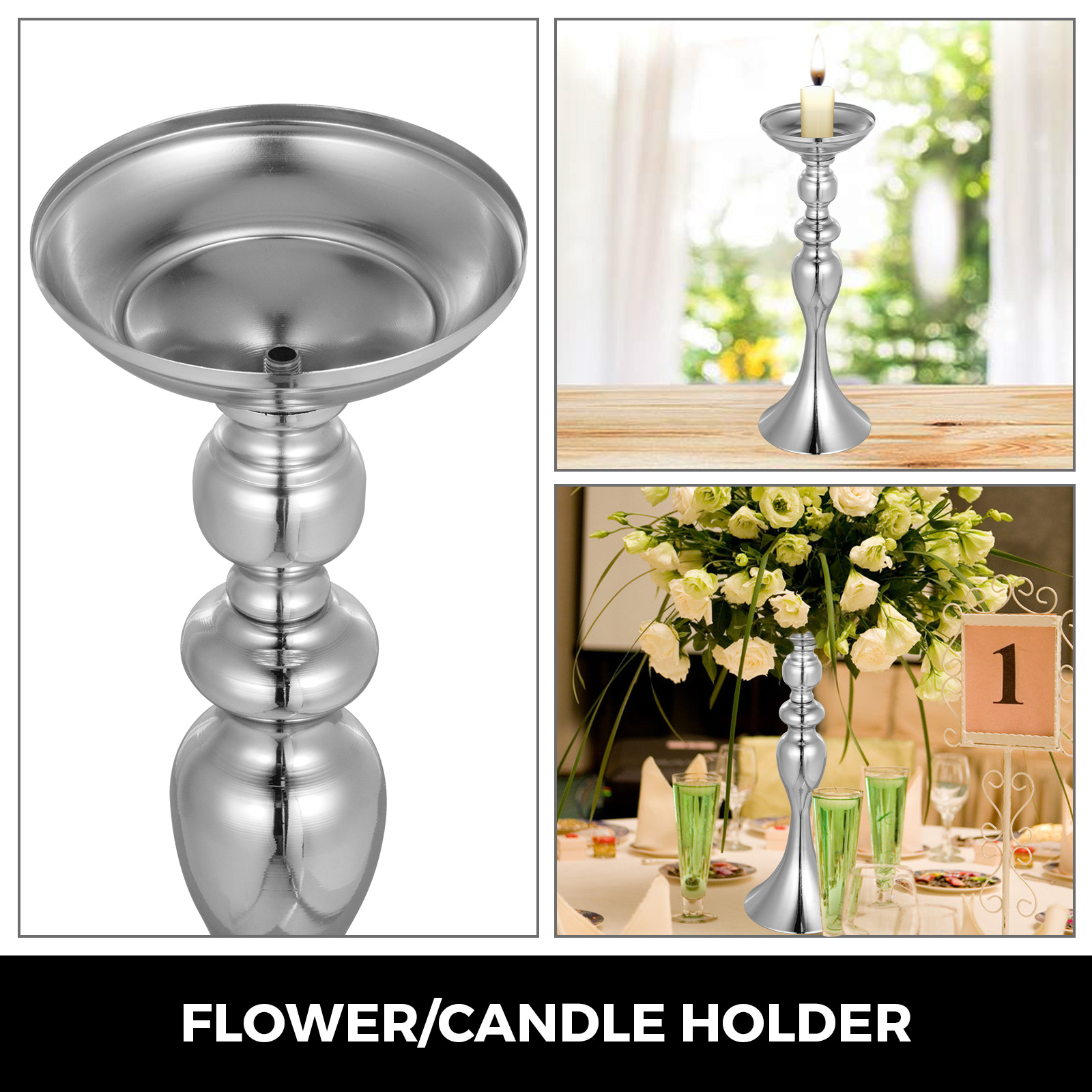 Flower-Rack-for-Wedding-Metal-Candle-Stand-4-11pcs-Centerpiece-Flower-Vase thumbnail 159
