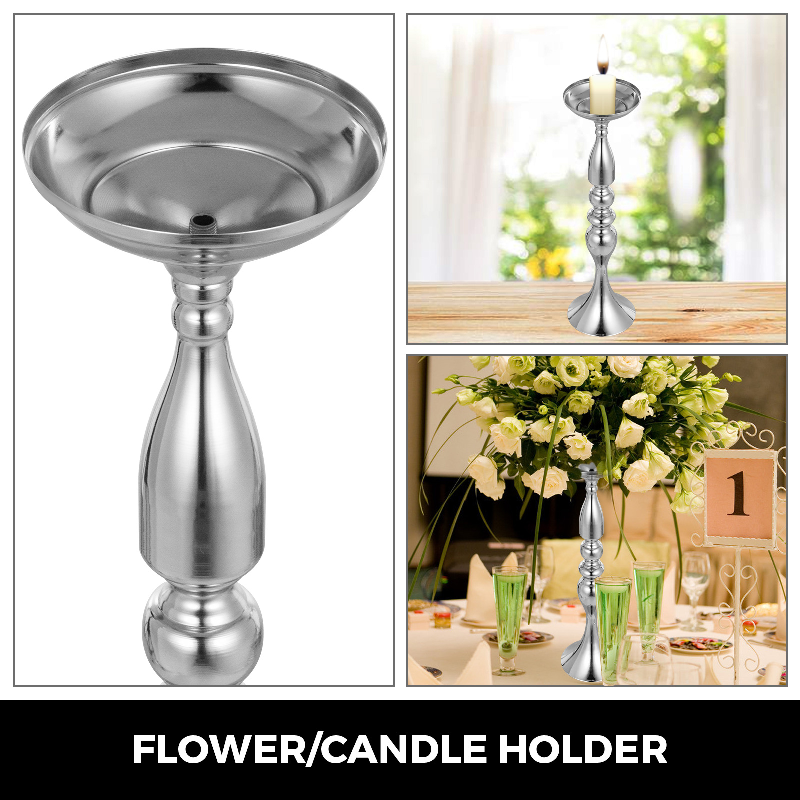 Flower-Rack-for-Wedding-Metal-Candle-Stand-4-11pcs-Centerpiece-Flower-Vase thumbnail 123