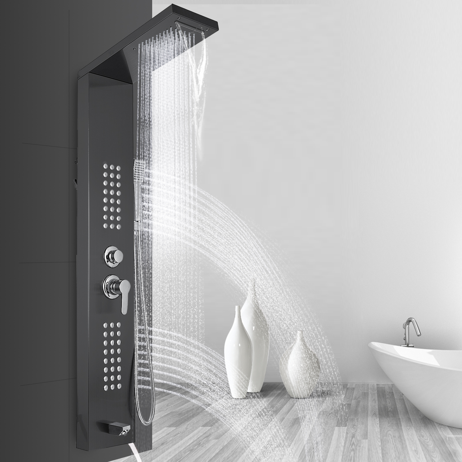 Pannello-doccia-idromassaggio-colonna-in-acciaio-inossidabile-con-miscelatore miniatura 102