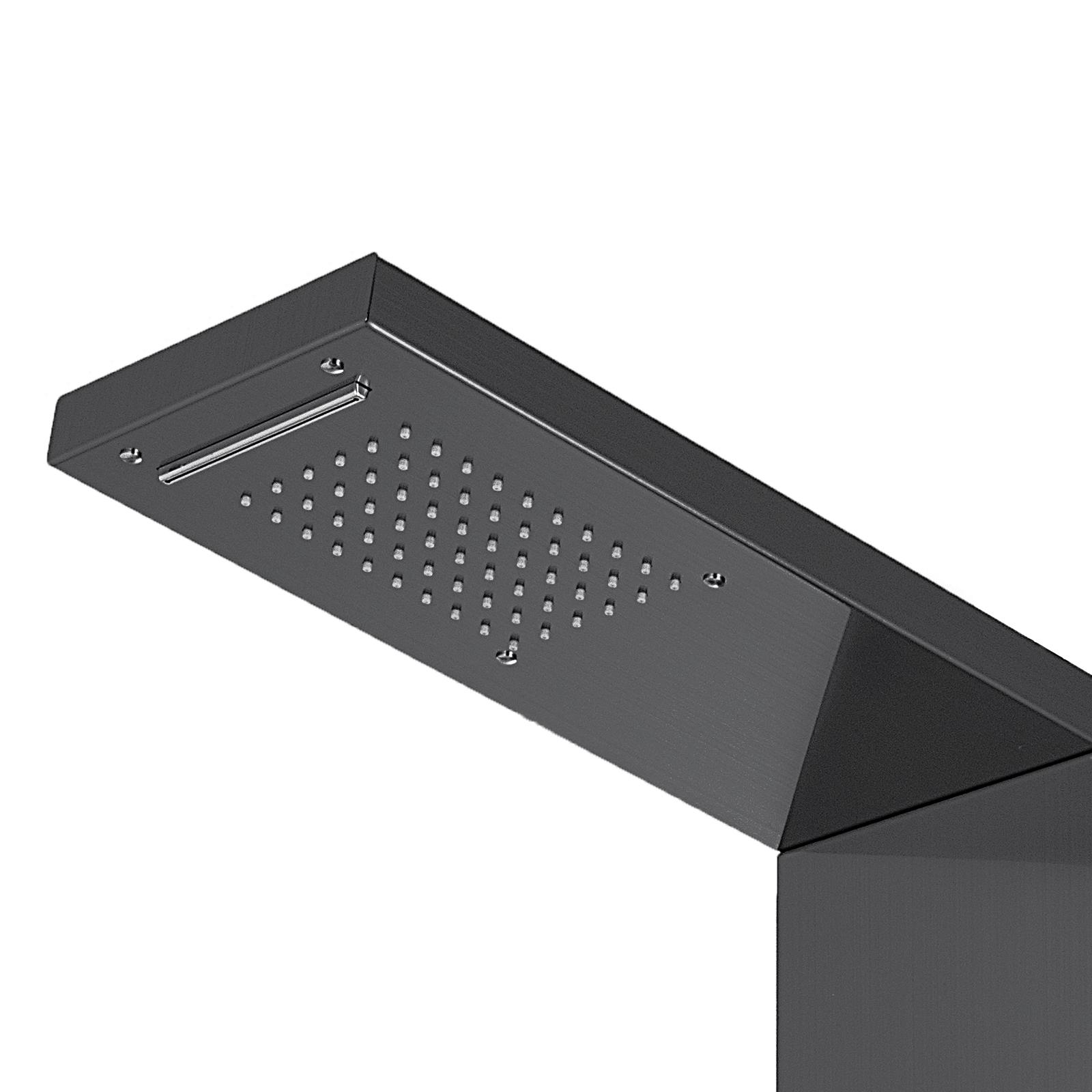 Pannello-doccia-idromassaggio-colonna-in-acciaio-inossidabile-con-miscelatore miniatura 104