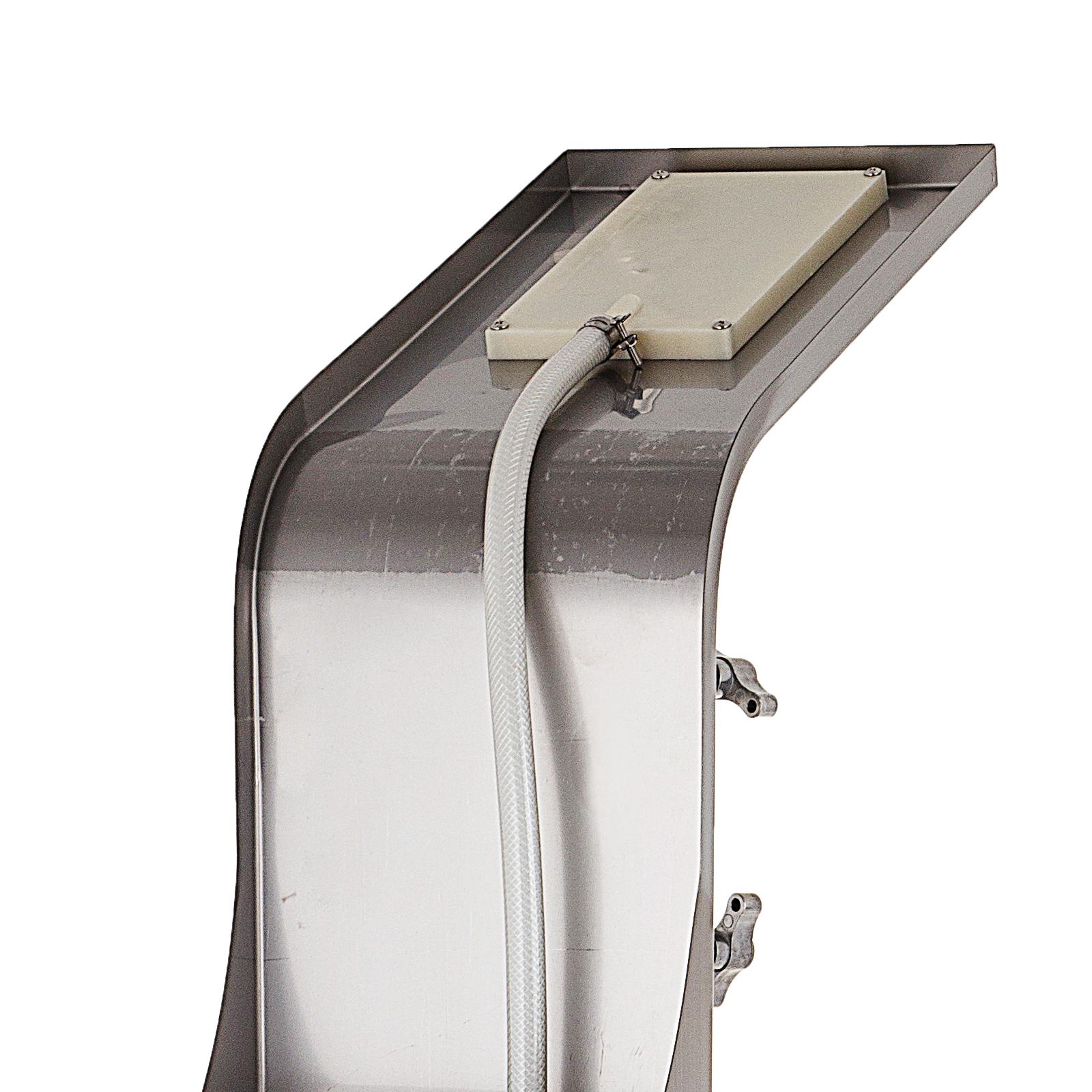 Pannello-doccia-idromassaggio-colonna-in-acciaio-inossidabile-con-miscelatore miniatura 58