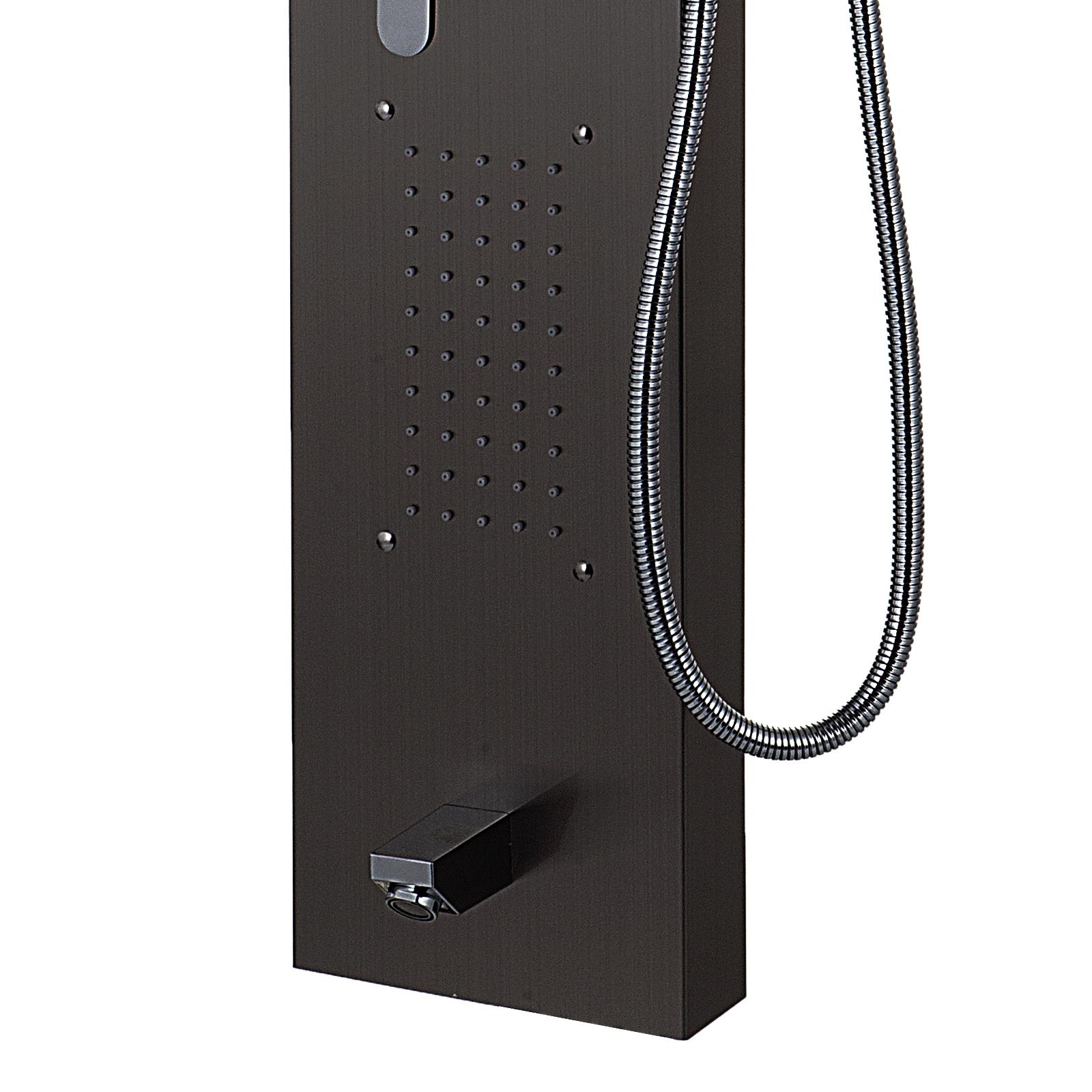 Pannello-doccia-idromassaggio-colonna-in-acciaio-inossidabile-con-miscelatore miniatura 57