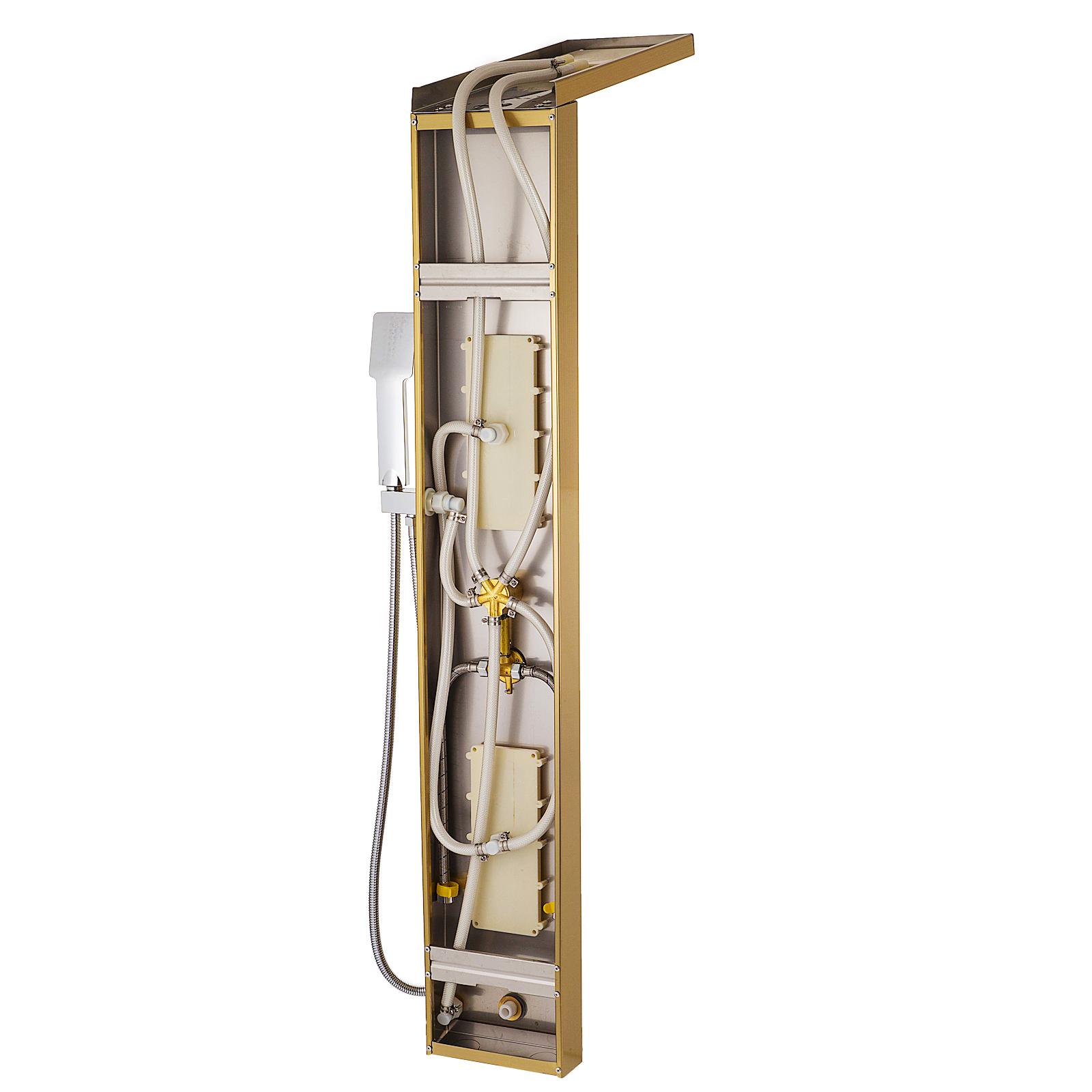 Pannello-doccia-idromassaggio-colonna-in-acciaio-inossidabile-con-miscelatore miniatura 89