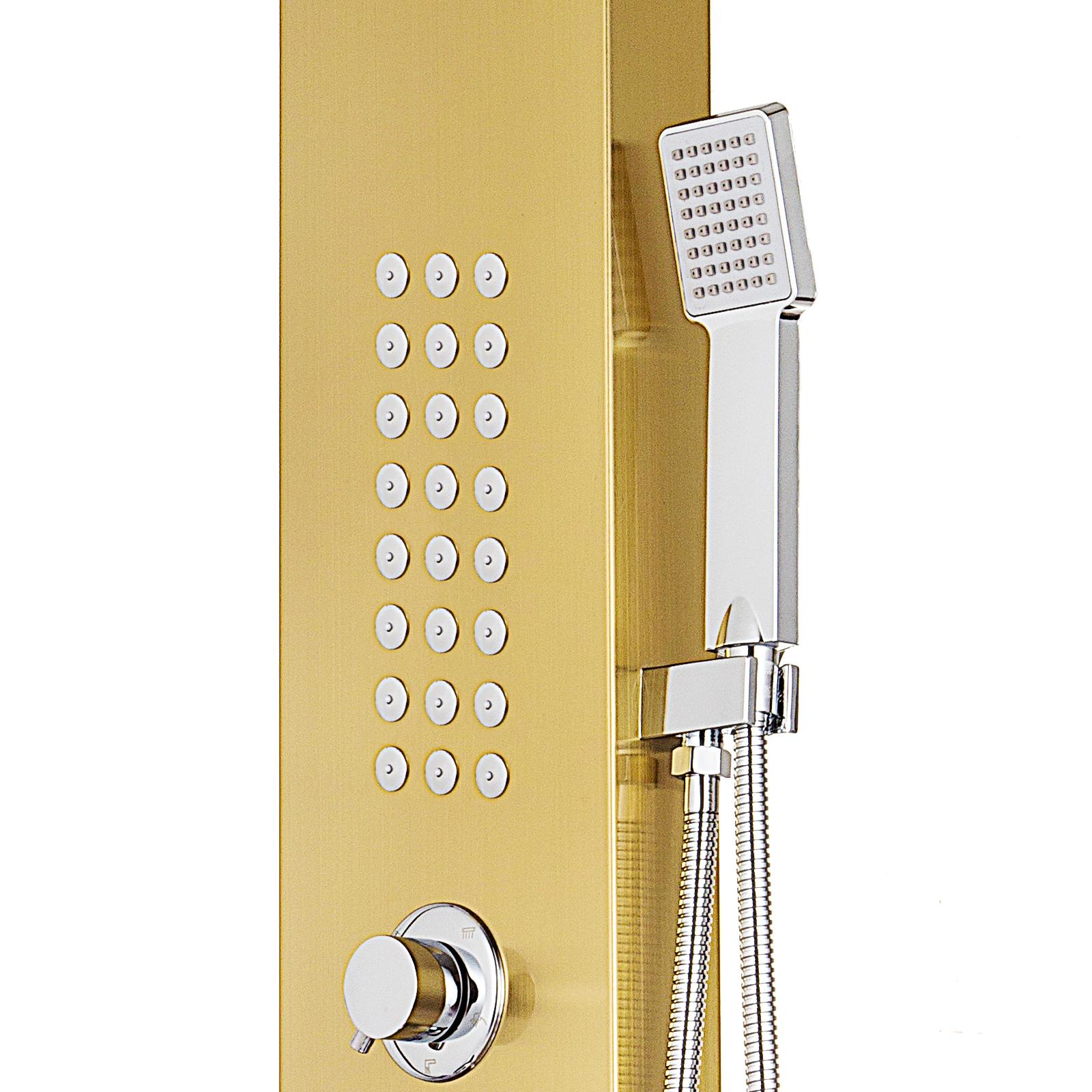 Pannello-doccia-idromassaggio-colonna-in-acciaio-inossidabile-con-miscelatore miniatura 93