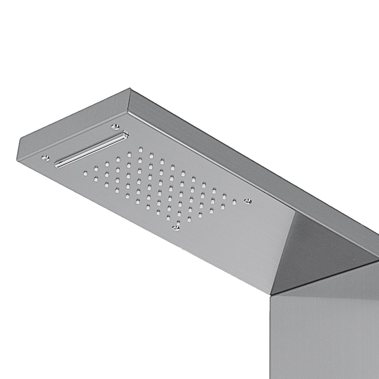 Pannello-doccia-idromassaggio-colonna-in-acciaio-inossidabile-con-miscelatore miniatura 68