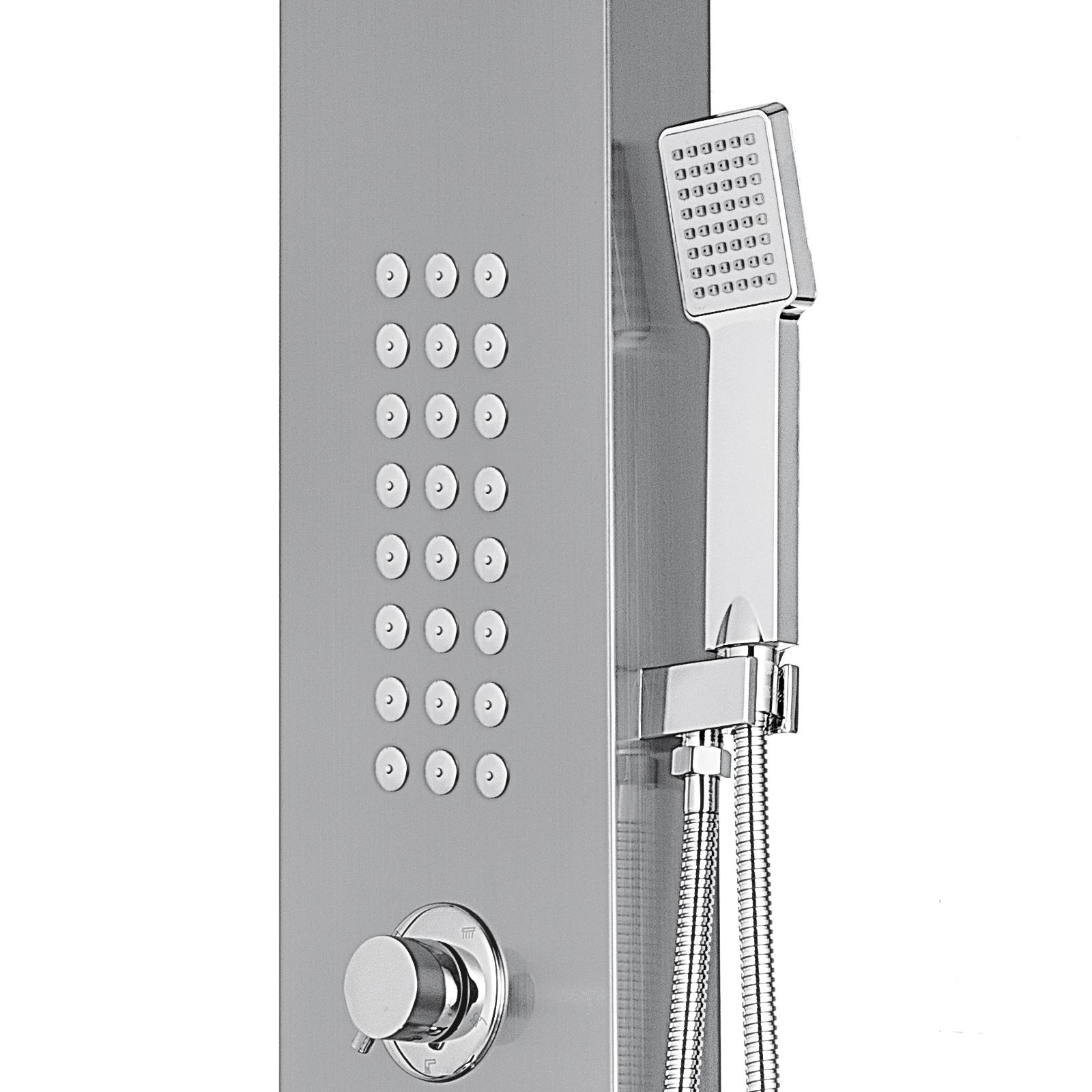 Pannello-doccia-idromassaggio-colonna-in-acciaio-inossidabile-con-miscelatore miniatura 69
