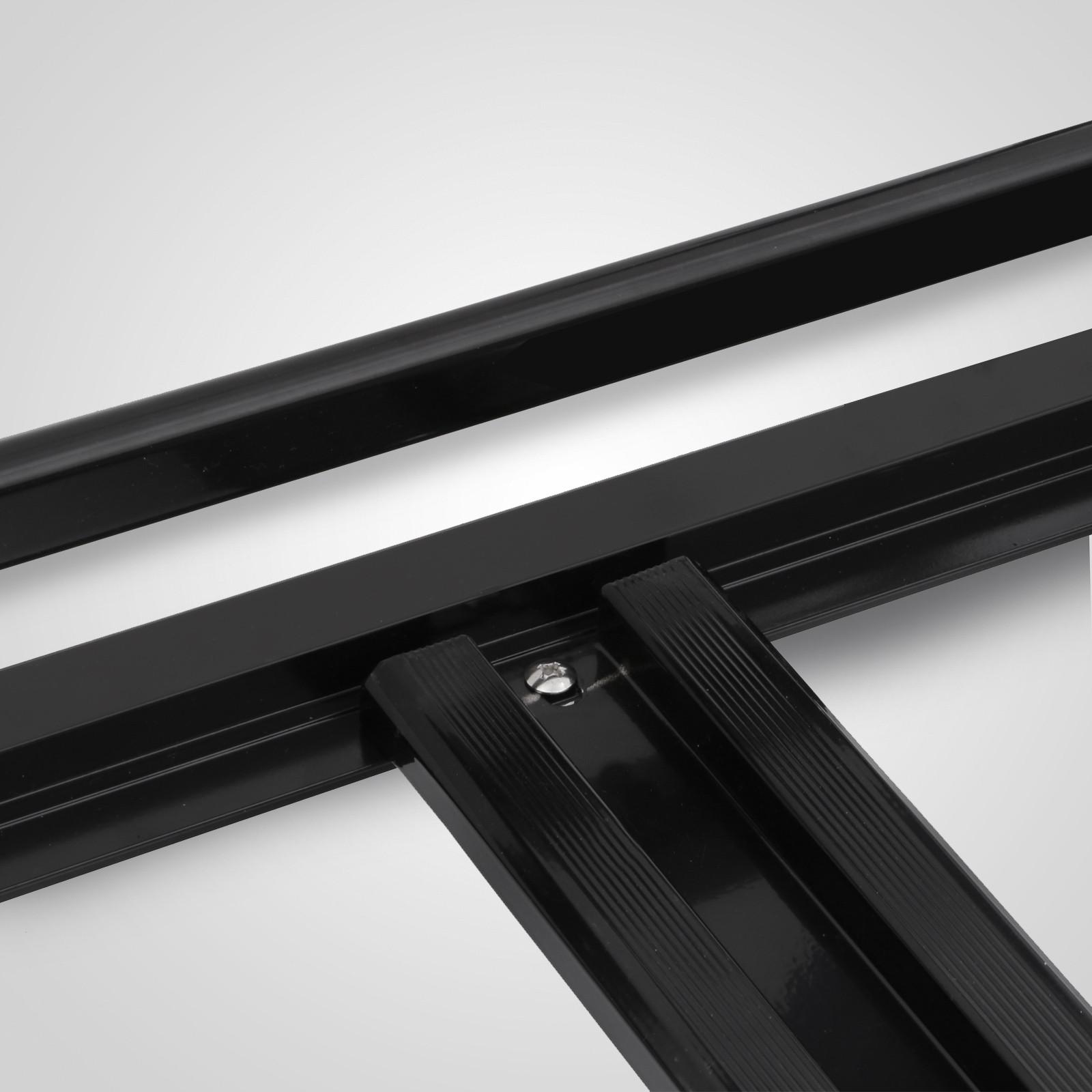 160cm Universale In Alluminio Auto Portapacchi Cesto Cargo