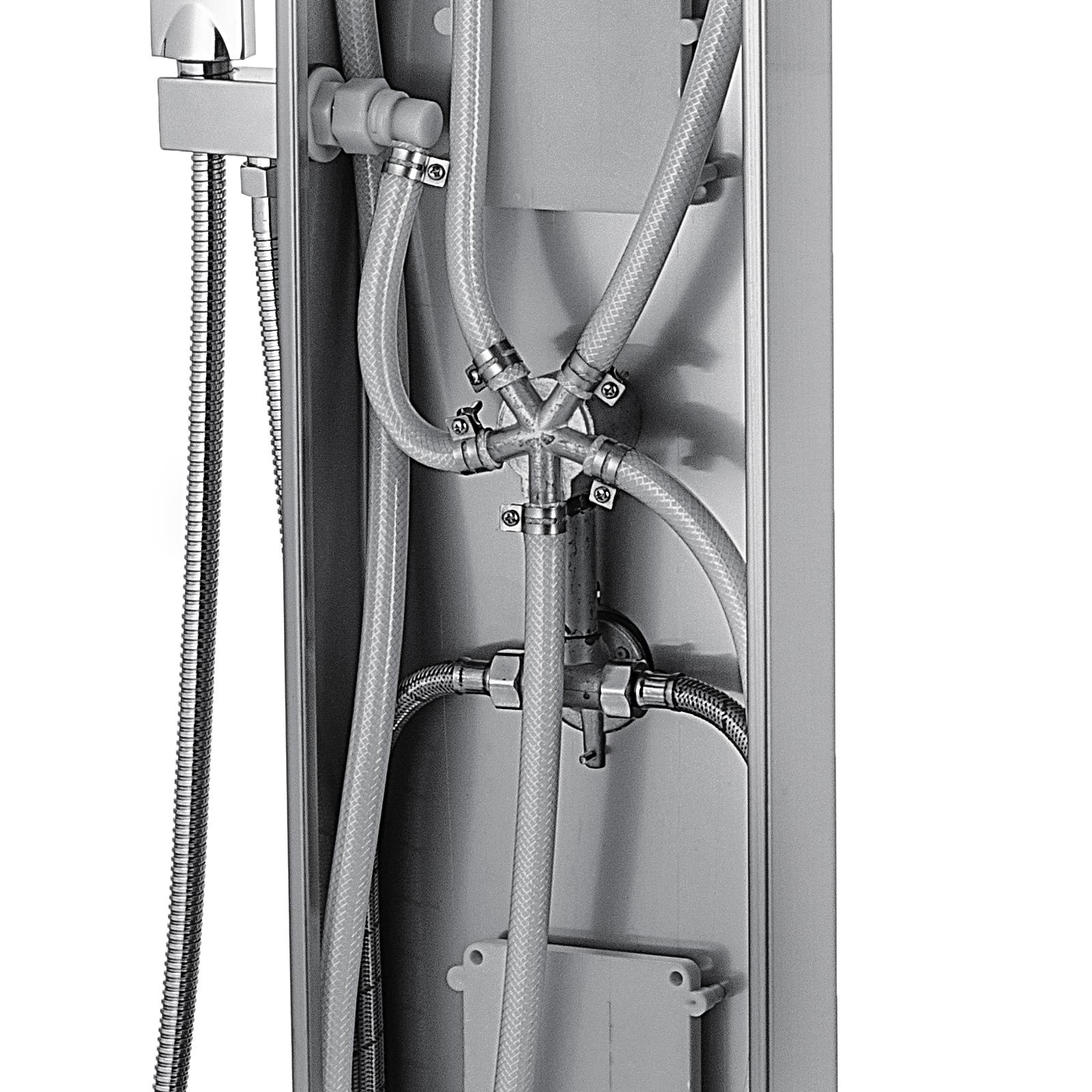 Pannello-doccia-idromassaggio-colonna-in-acciaio-inossidabile-con-miscelatore miniatura 83