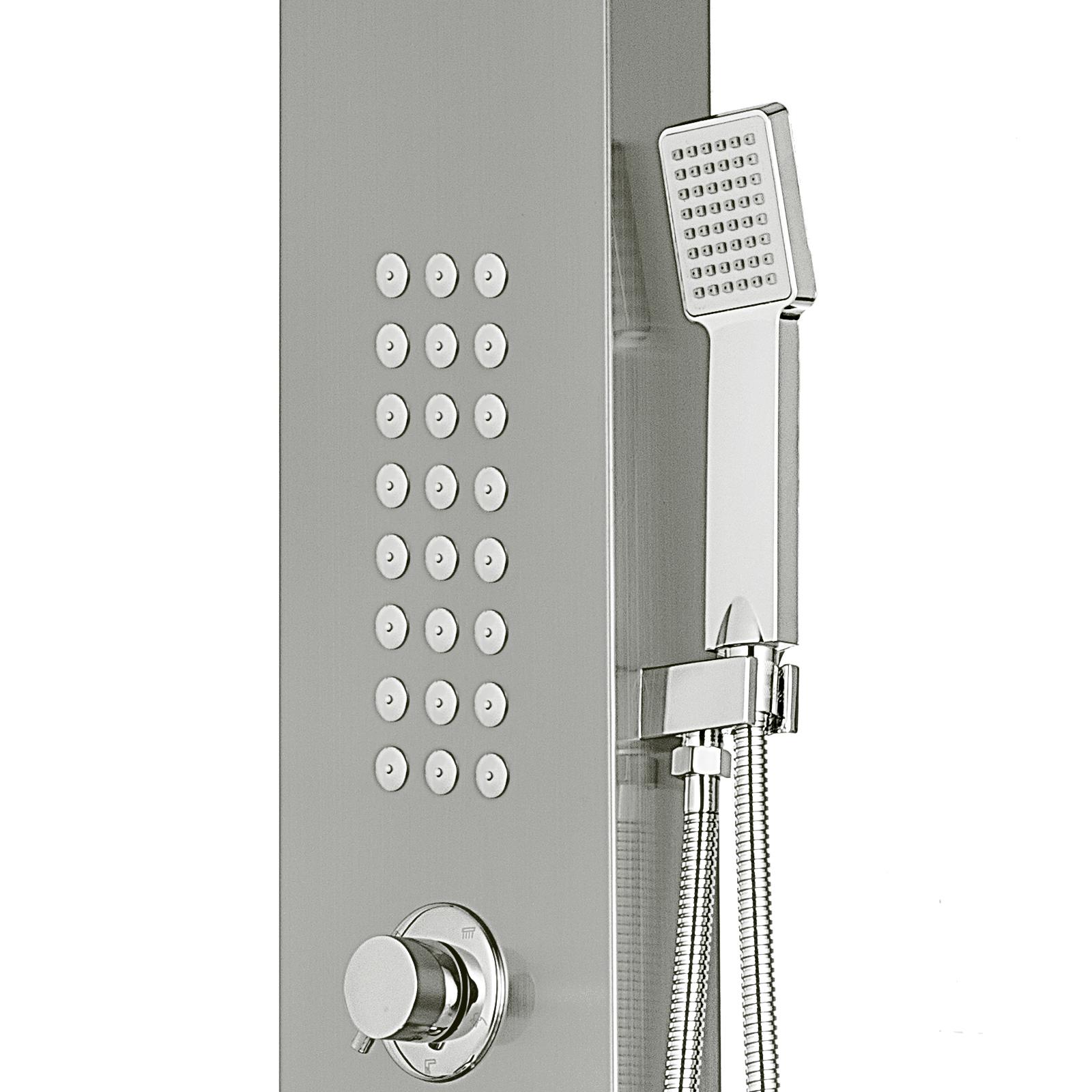 Pannello-doccia-idromassaggio-colonna-in-acciaio-inossidabile-con-miscelatore miniatura 81
