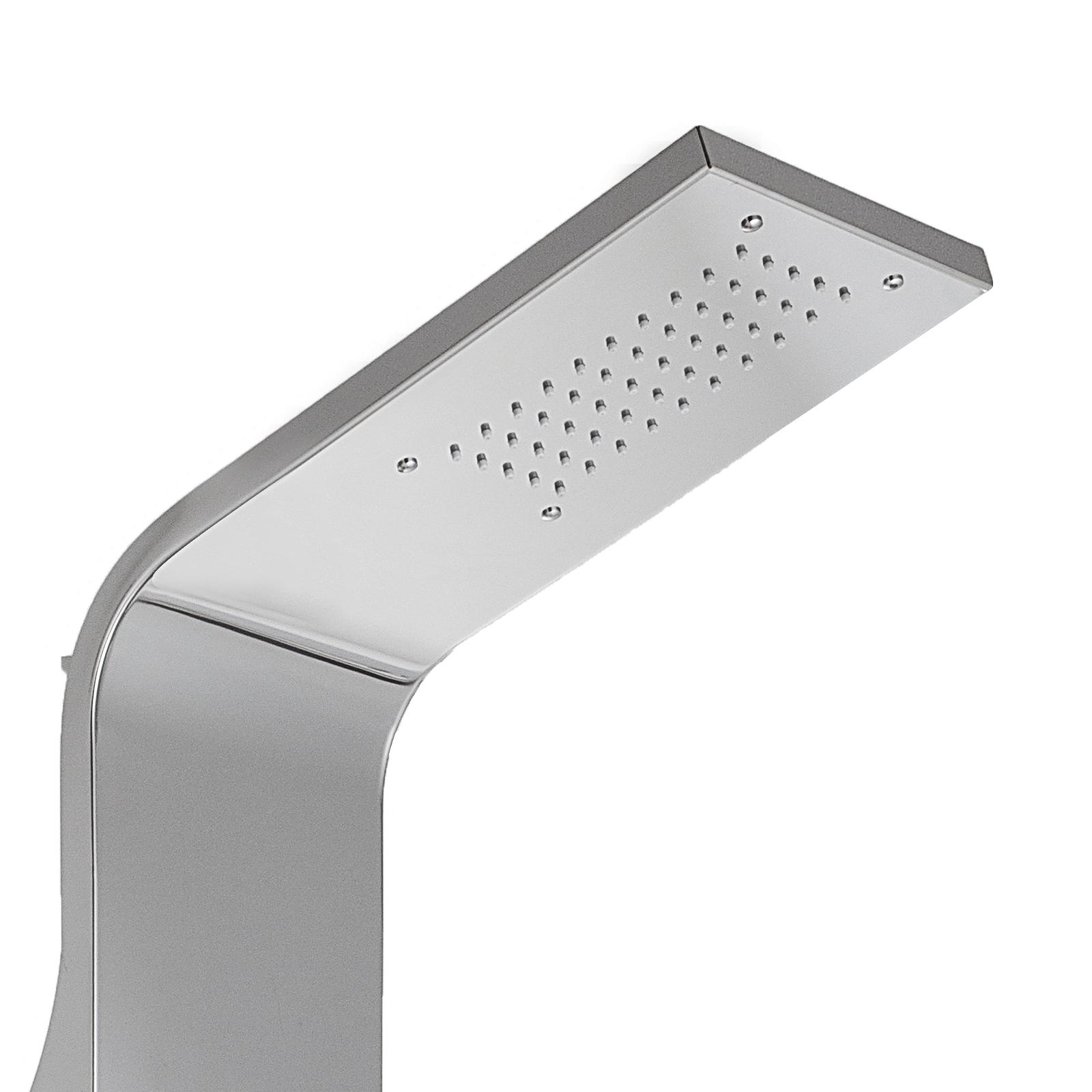 Pannello-doccia-idromassaggio-colonna-in-acciaio-inossidabile-con-miscelatore miniatura 34