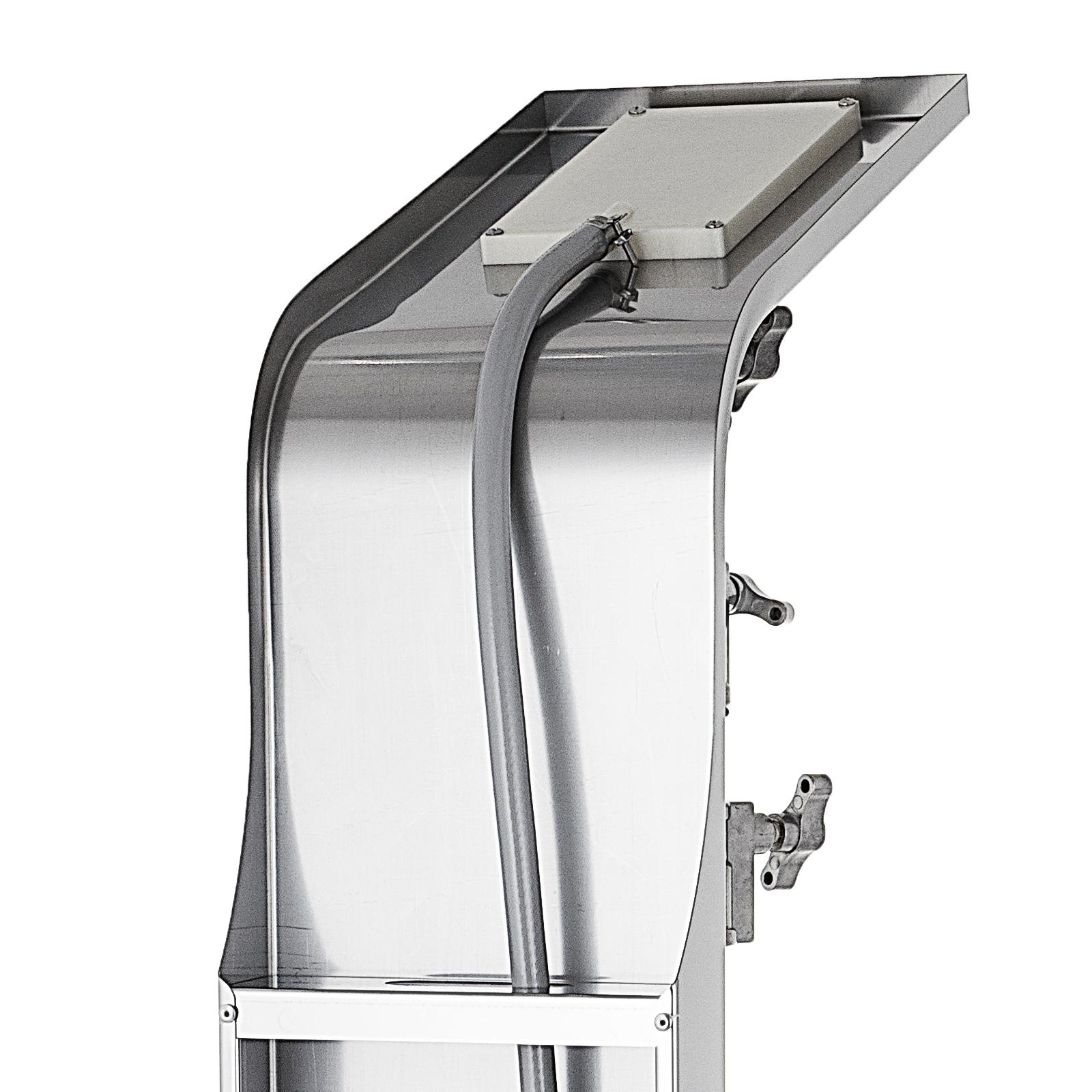 Pannello-doccia-idromassaggio-colonna-in-acciaio-inossidabile-con-miscelatore miniatura 36