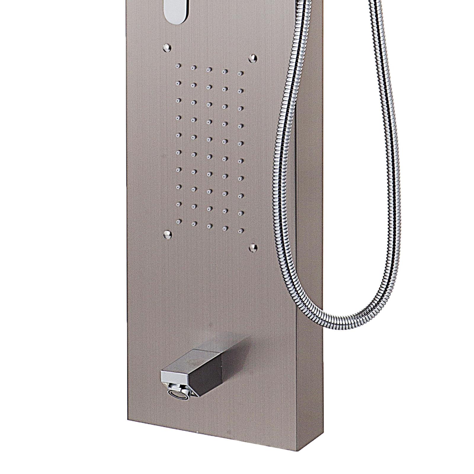 Pannello-doccia-idromassaggio-colonna-in-acciaio-inossidabile-con-miscelatore miniatura 47