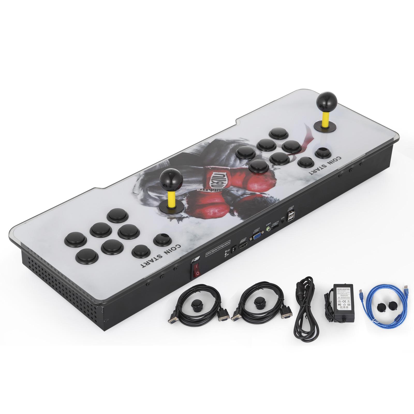 Details about 1500 Video Games Pandoras Box Key 9s Metal Double Stick  Arcade Console