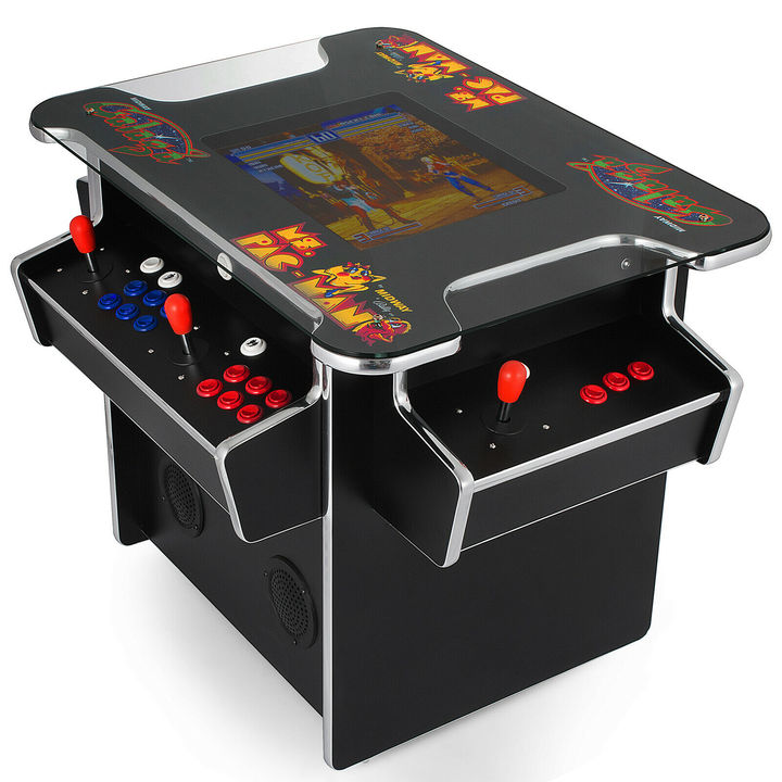 Cocktail Arcade Machine With 1162 Clic Games 3 Playsticks ...