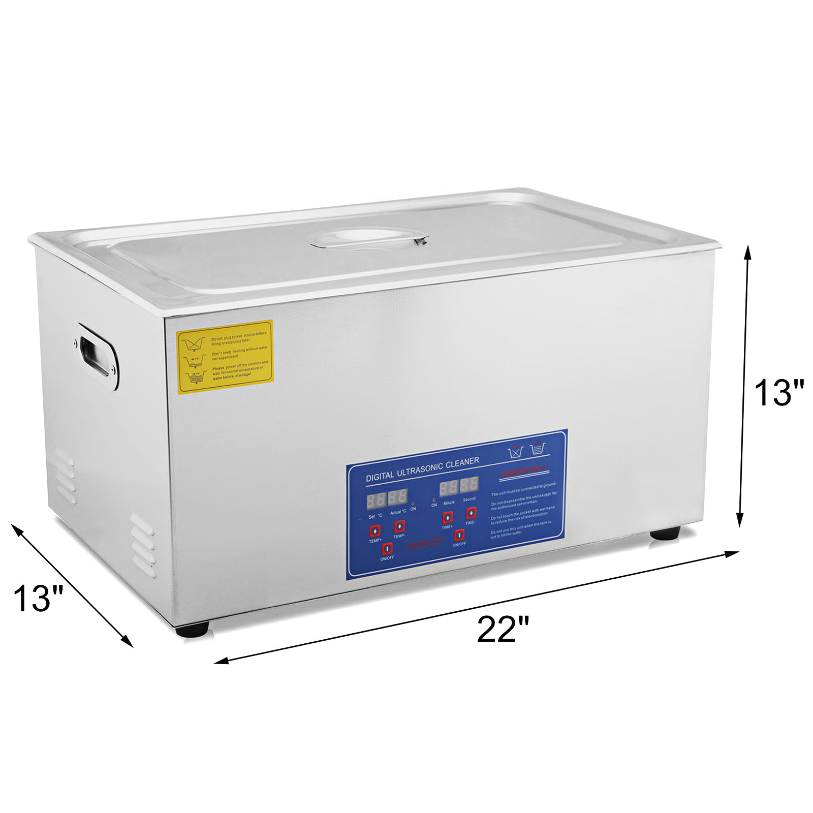 Vaschetta-Vasca-Ultrasuoni-Lavatrice-Pulitore-Ad-Ultrasuoni miniatura 98