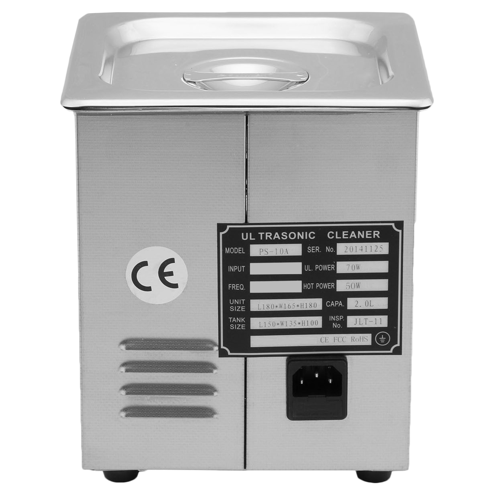 Vaschetta-Vasca-Ultrasuoni-Lavatrice-Pulitore-Ad-Ultrasuoni miniatura 27