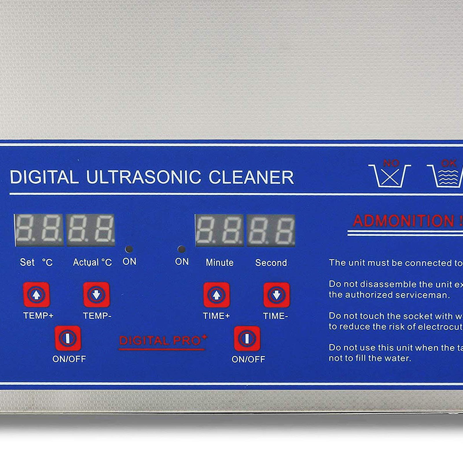 Multi-Ultrasonic-Cleaner-Supplies-Jewelry-1-3-2L-3L-6L-10L-15L-22L-30L thumbnail 43