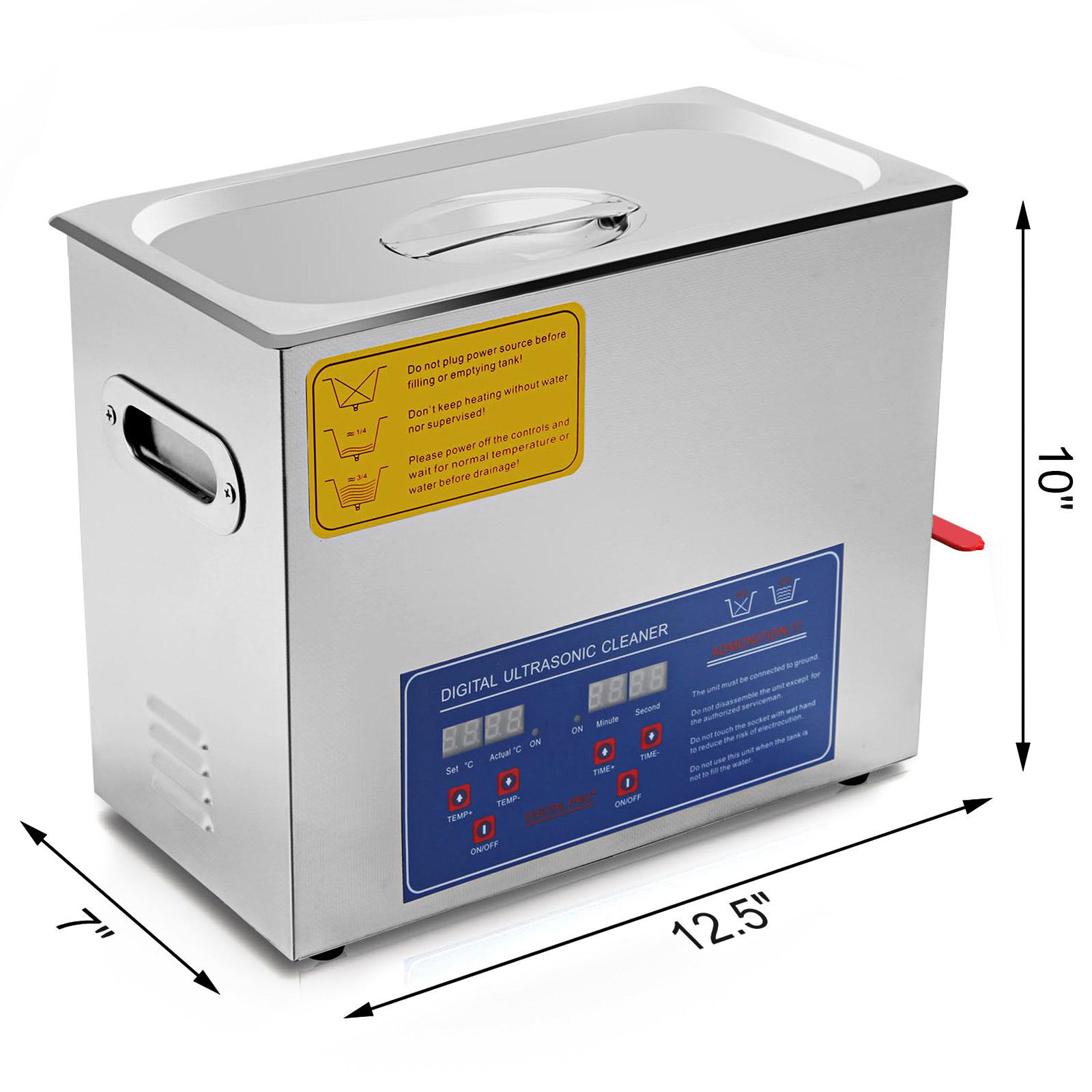Vaschetta-Vasca-Ultrasuoni-Lavatrice-Pulitore-Ad-Ultrasuoni miniatura 50