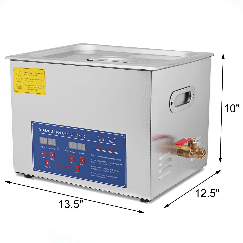 Vaschetta-Vasca-Ultrasuoni-Lavatrice-Pulitore-Ad-Ultrasuoni miniatura 74