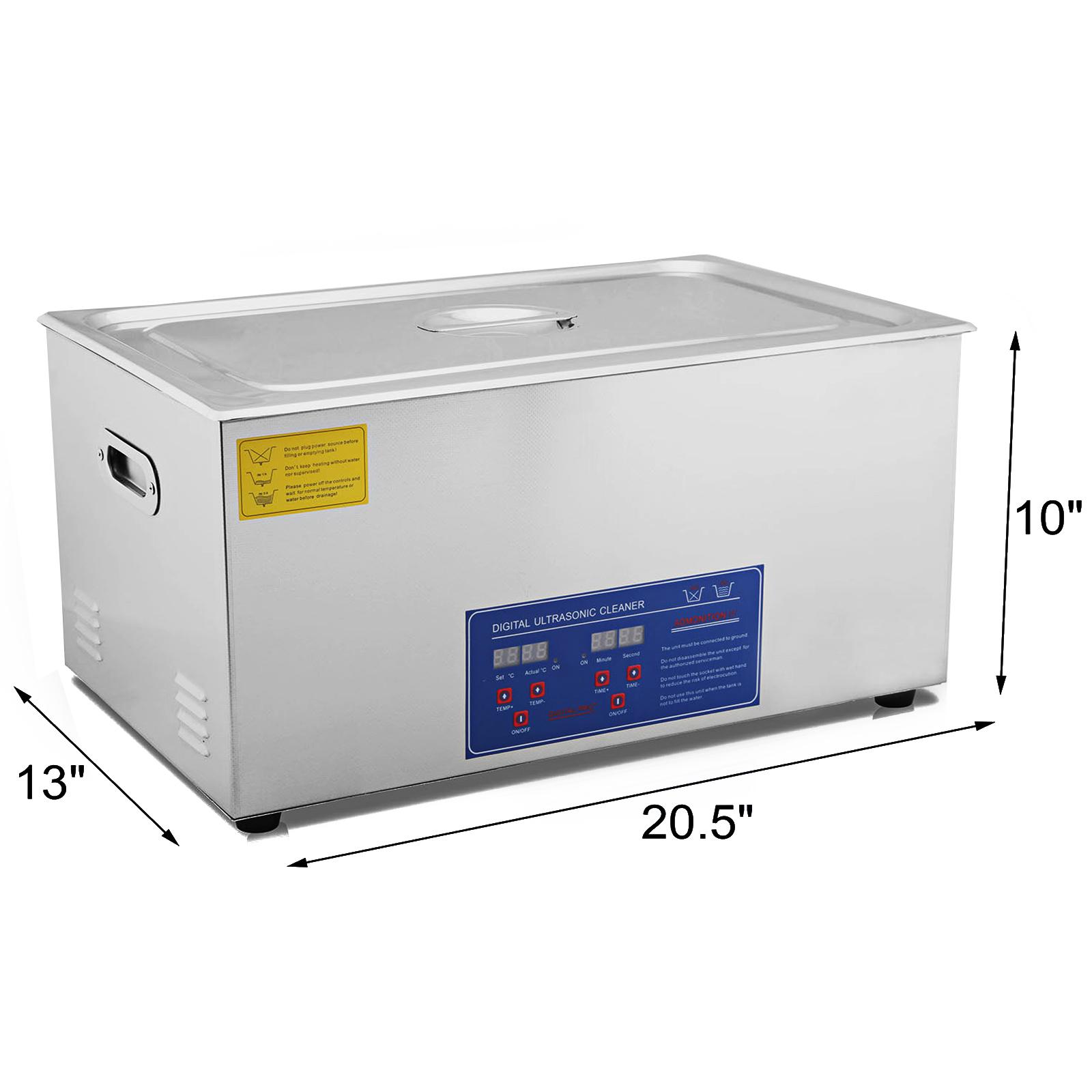 Vaschetta-Vasca-Ultrasuoni-Lavatrice-Pulitore-Ad-Ultrasuoni miniatura 86
