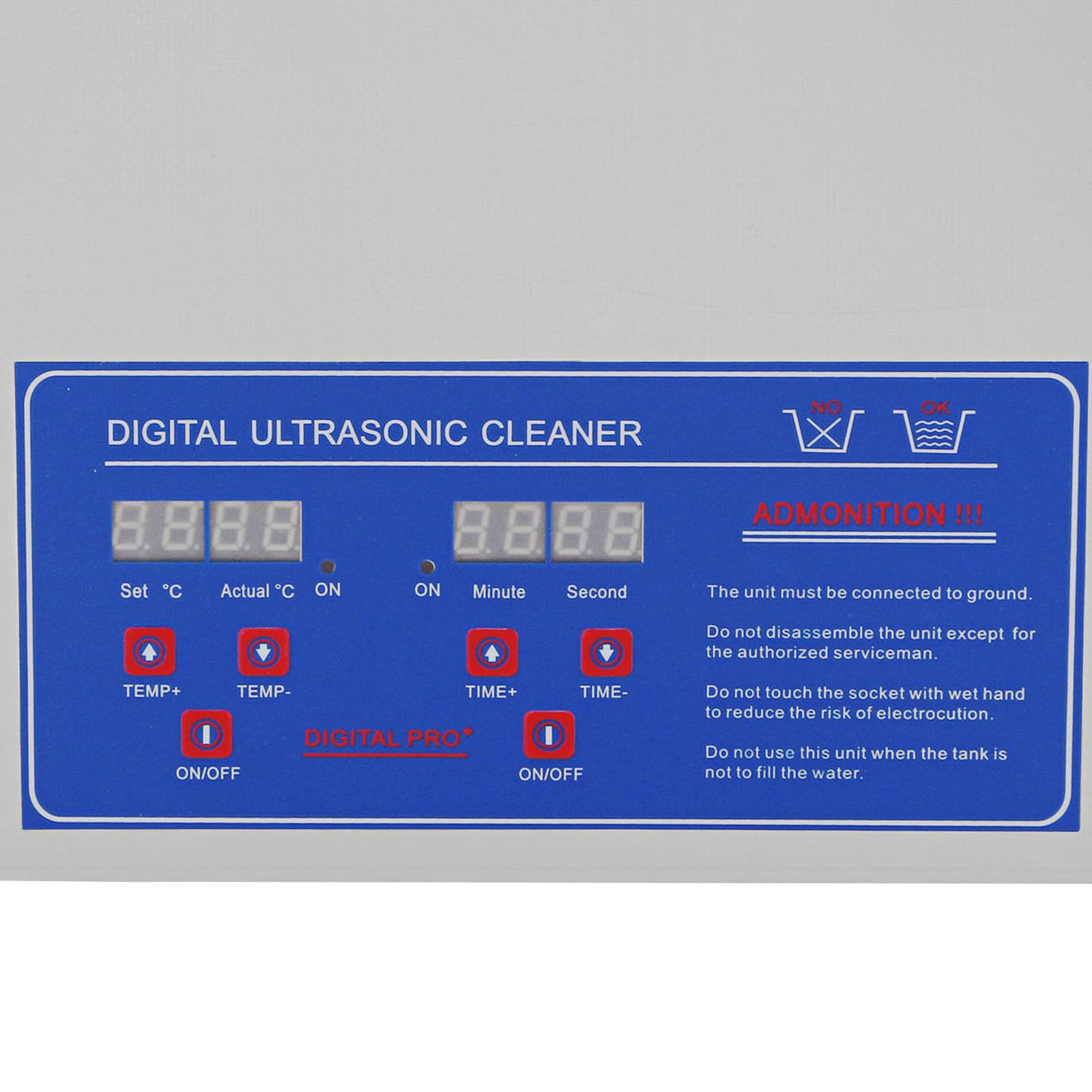 Multi-Ultrasonic-Cleaner-Supplies-Jewelry-1-3-2L-3L-6L-10L-15L-22L-30L thumbnail 92