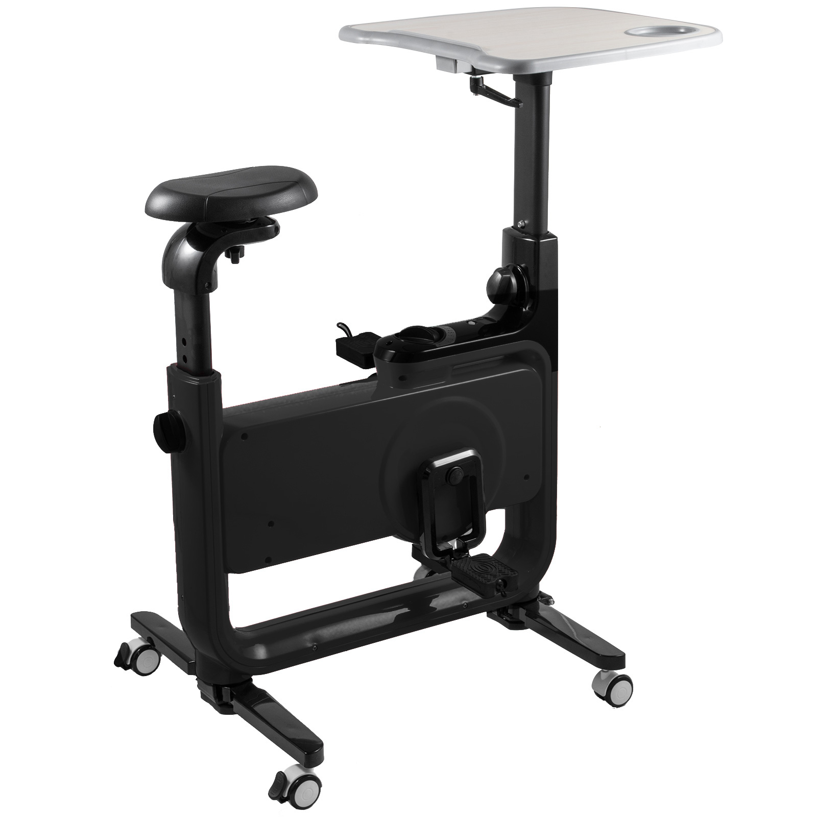 Multi-style-Magnetic-Exercise-Bike-office-Bicycle-under-Desk-Fitness-Cardio miniature 21