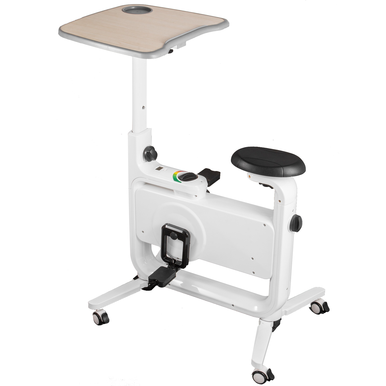 Multi-style-Magnetic-Exercise-Bike-office-Bicycle-under-Desk-Fitness-Cardio miniature 48