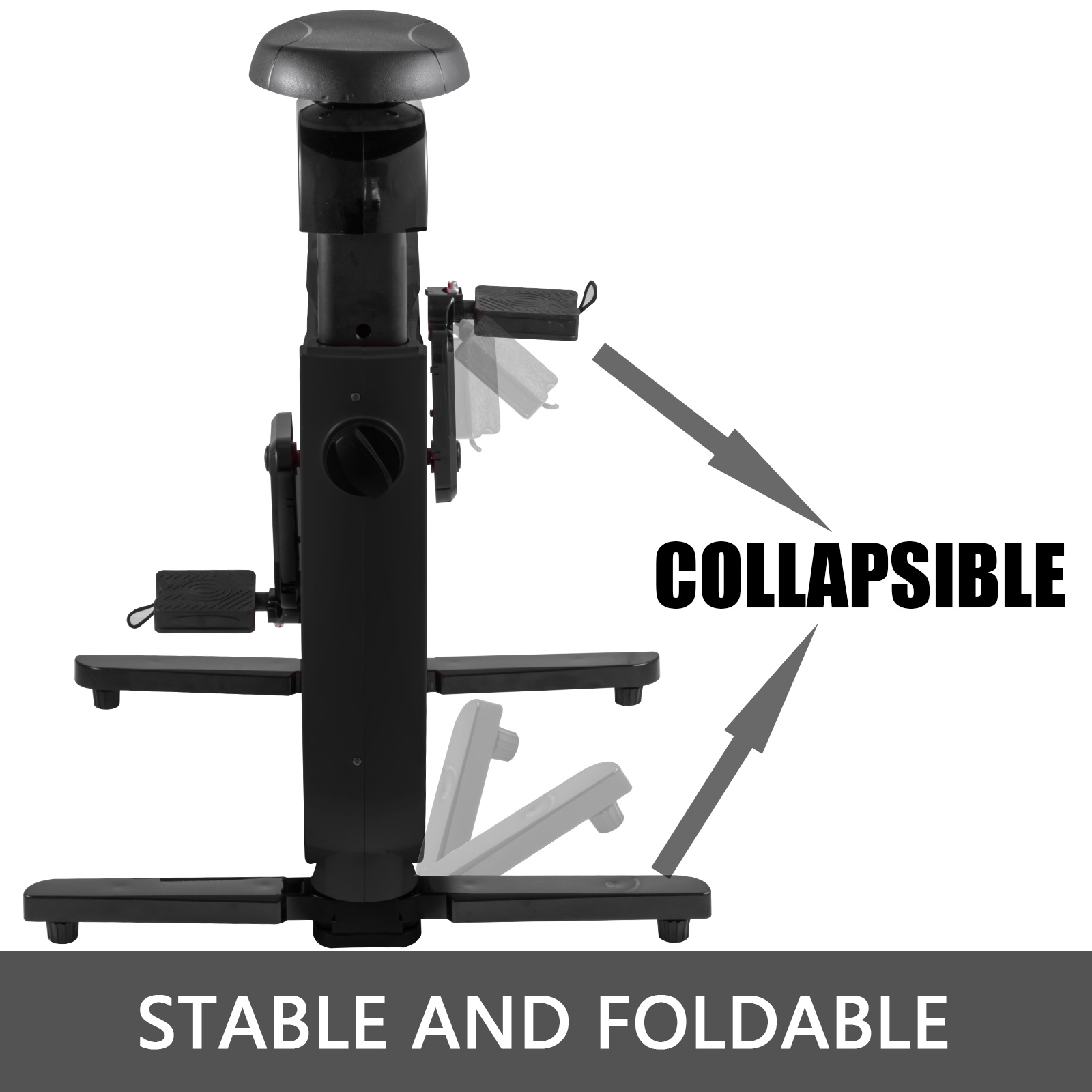 Multi-style-Magnetic-Exercise-Bike-office-Bicycle-under-Desk-Fitness-Cardio miniature 53