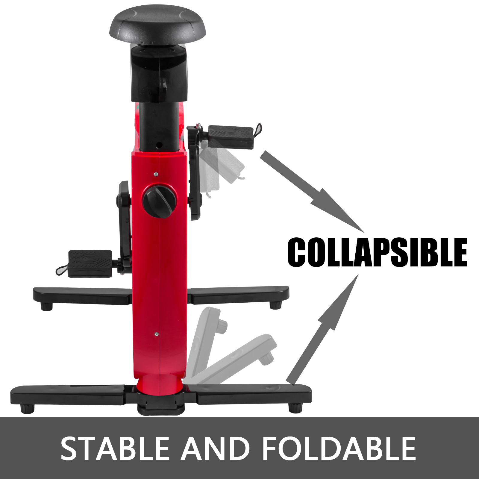 Multi-style-Magnetic-Exercise-Bike-office-Bicycle-under-Desk-Fitness-Cardio miniature 65