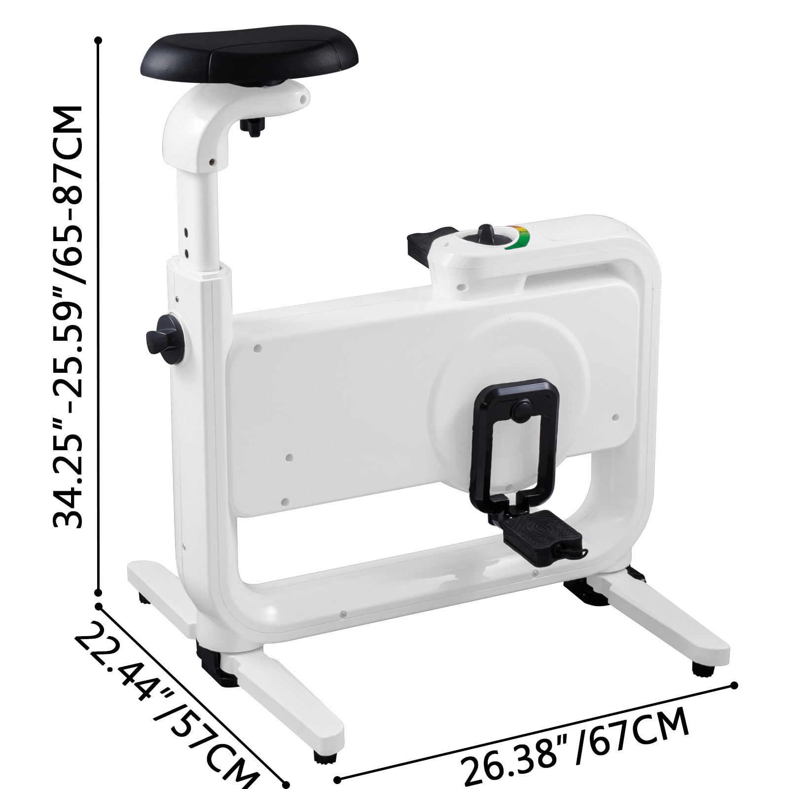 Multi-style-Magnetic-Exercise-Bike-office-Bicycle-under-Desk-Fitness-Cardio miniature 80