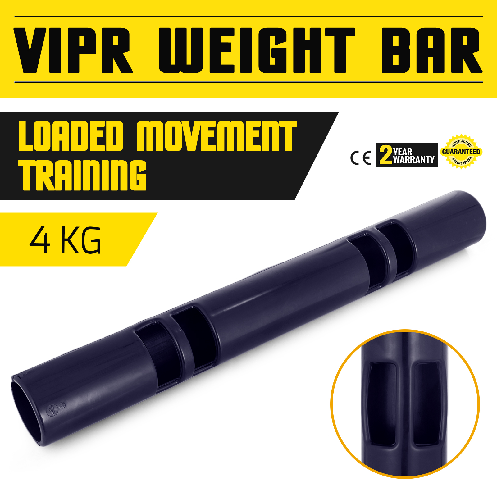 Vipr-Fitpro-Fitness-Tube-Loaded-Movement-Training-weightlifting-4-6-8-10-12-Kg thumbnail 13