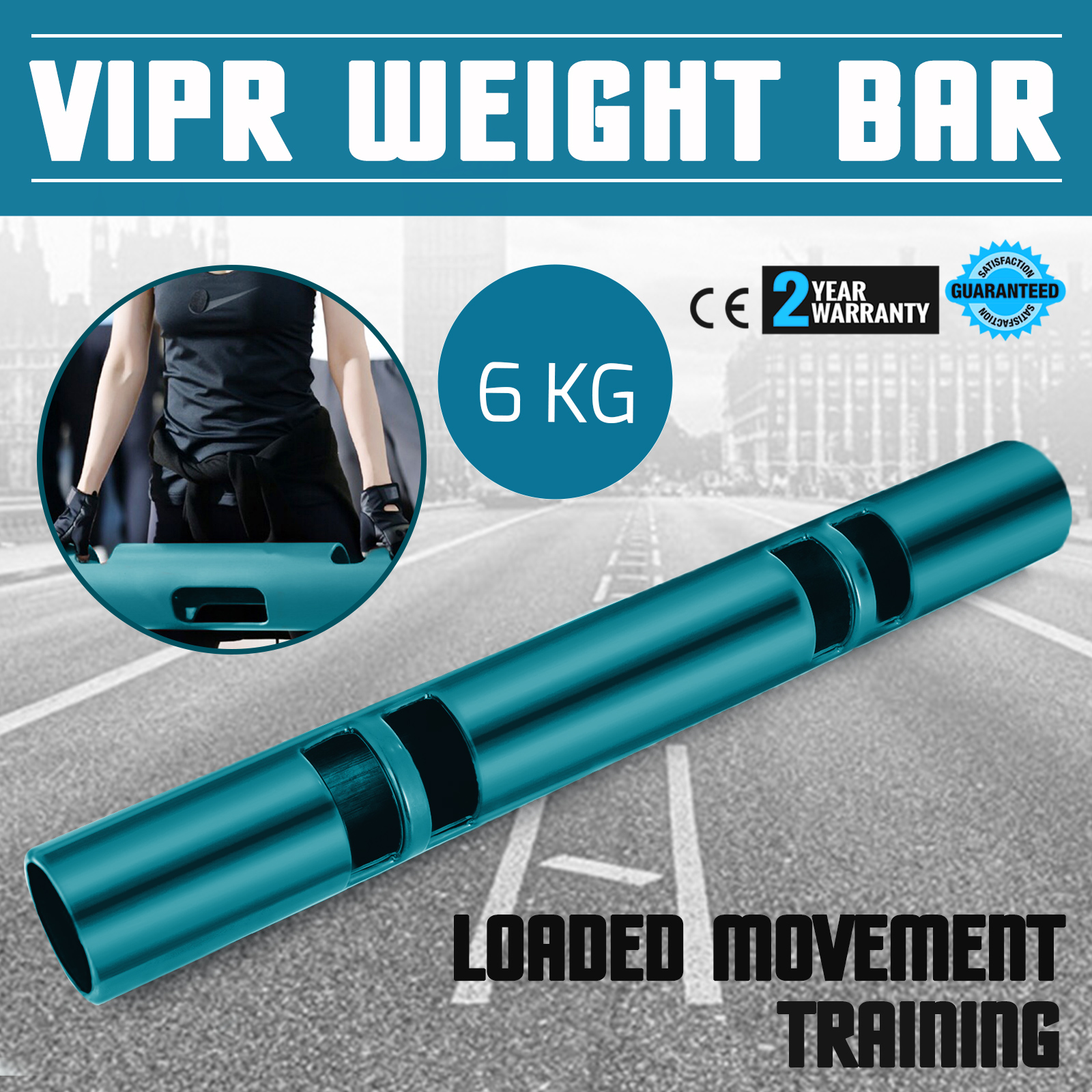 Vipr-Fitpro-Fitness-Tube-Loaded-Movement-Training-weightlifting-4-6-8-10-12-Kg thumbnail 25