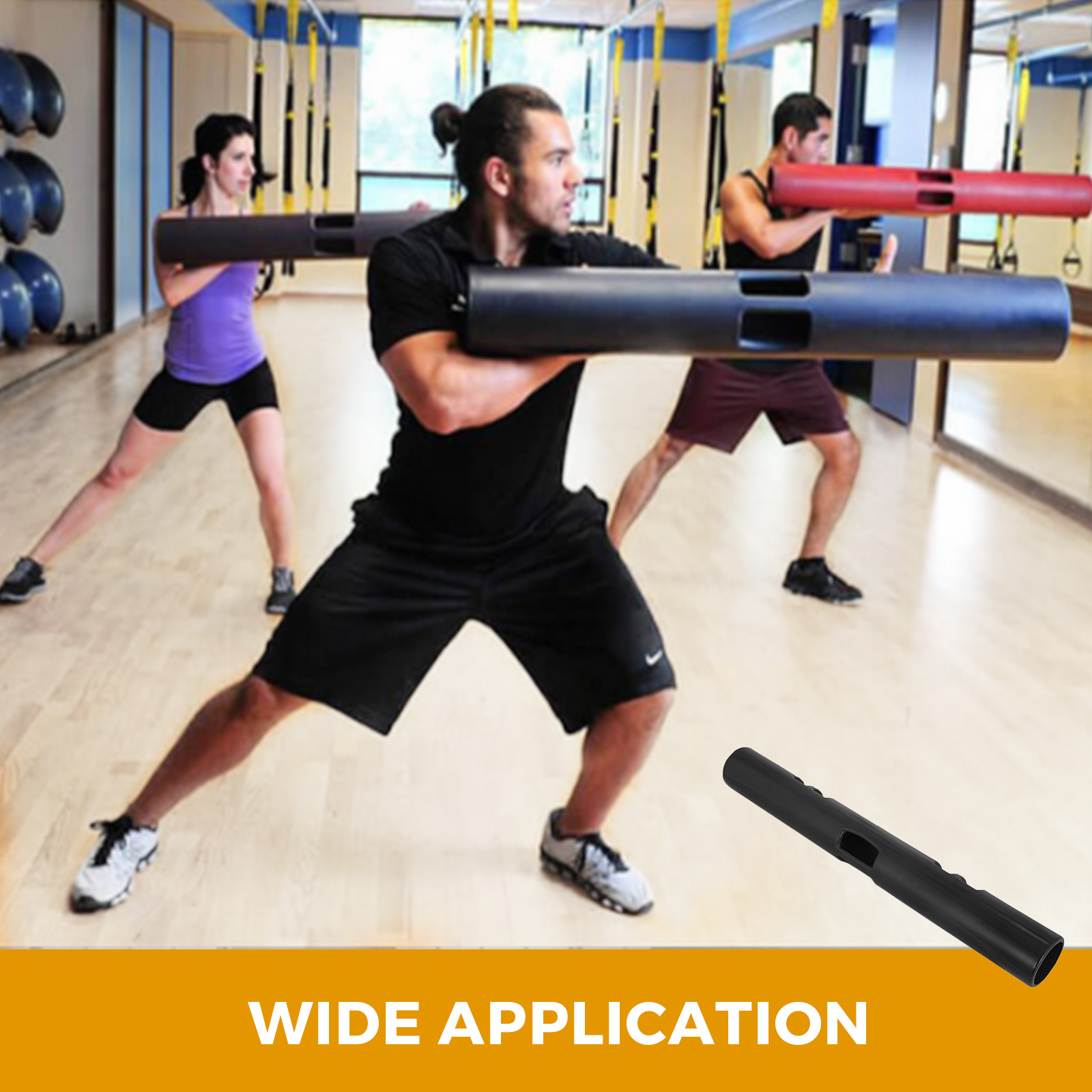 Vipr-Fitpro-Fitness-Tube-Loaded-Movement-Training-weightlifting-4-6-8-10-12-Kg thumbnail 295