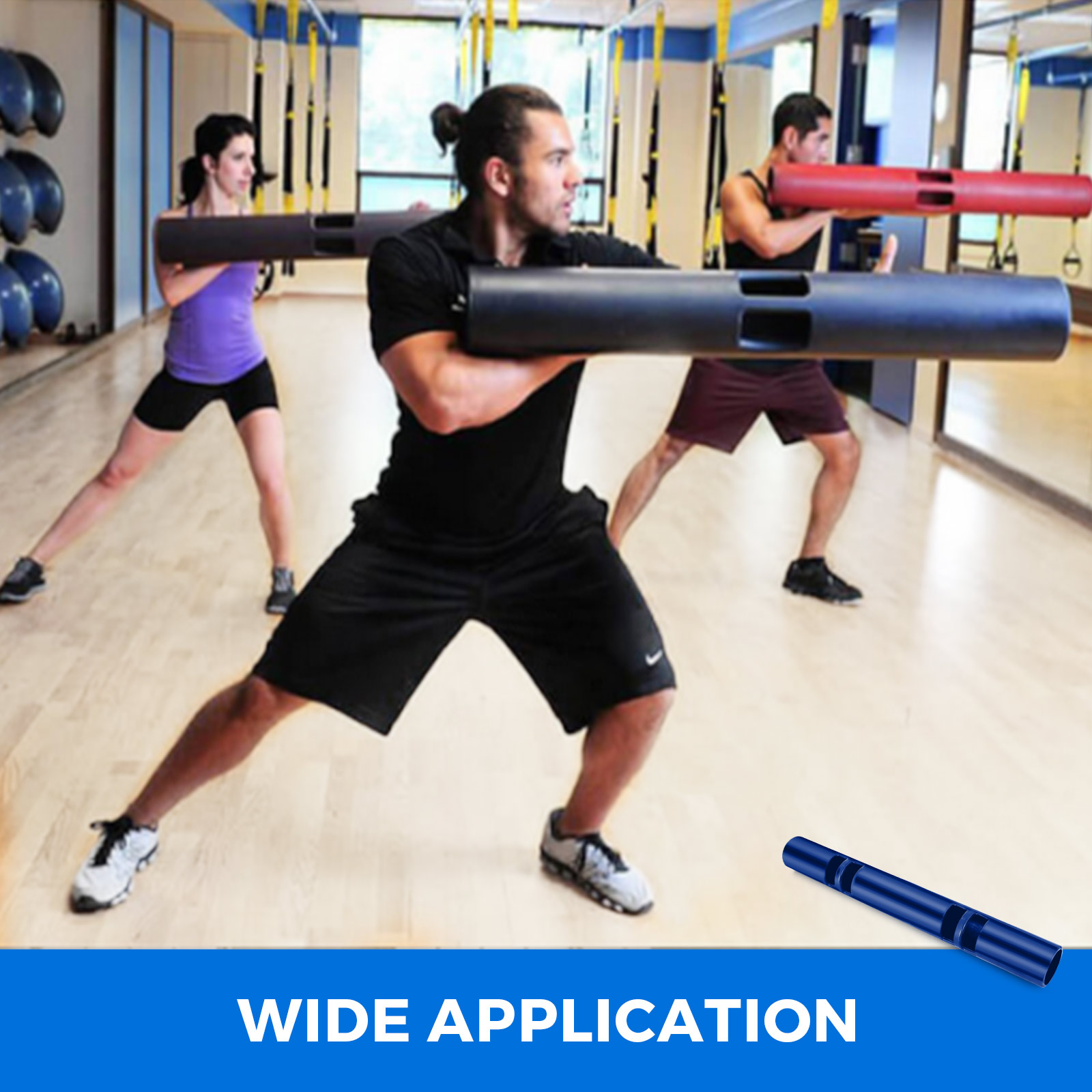 Vipr-Fitpro-Fitness-Tube-Loaded-Movement-Training-weightlifting-4-6-8-10-12-Kg thumbnail 259