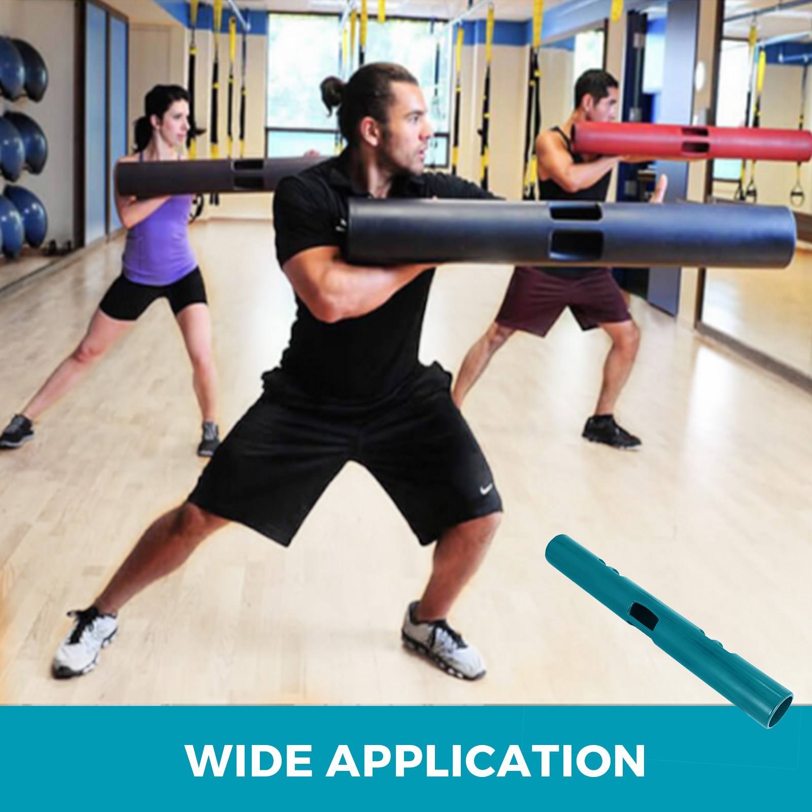 Vipr-Fitpro-Fitness-Tube-Loaded-Movement-Training-weightlifting-4-6-8-10-12-Kg thumbnail 175