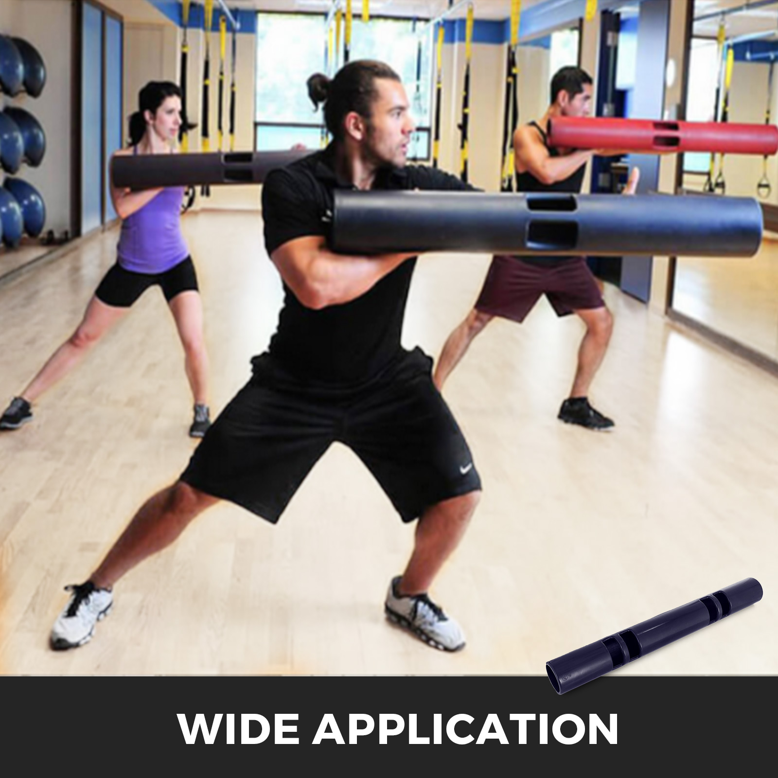 Vipr-Fitpro-Fitness-Tube-Loaded-Movement-Training-weightlifting-4-6-8-10-12-Kg thumbnail 163