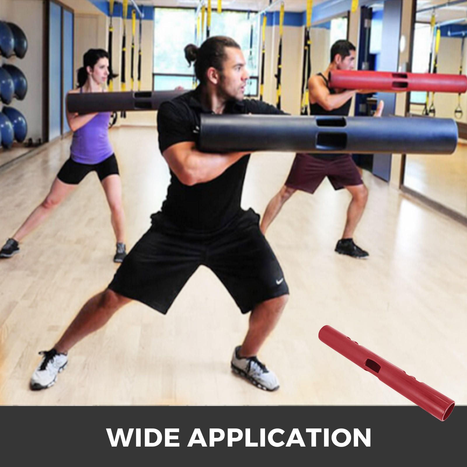 Vipr-Fitpro-Fitness-Tube-Loaded-Movement-Training-weightlifting-4-6-8-10-12-Kg thumbnail 79