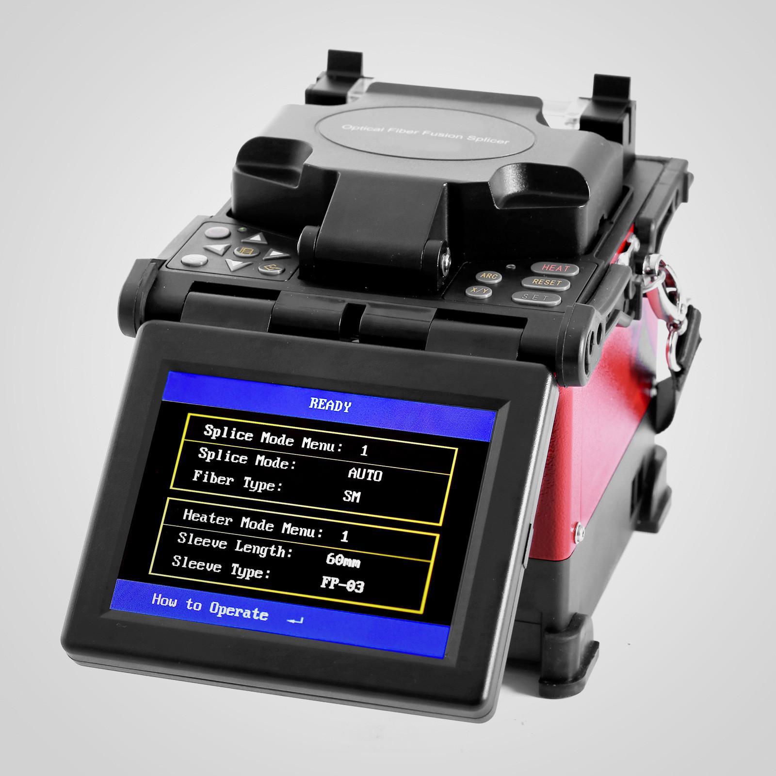Ftth Fiber Optic Splicing Machine Optical Fiber Fusion