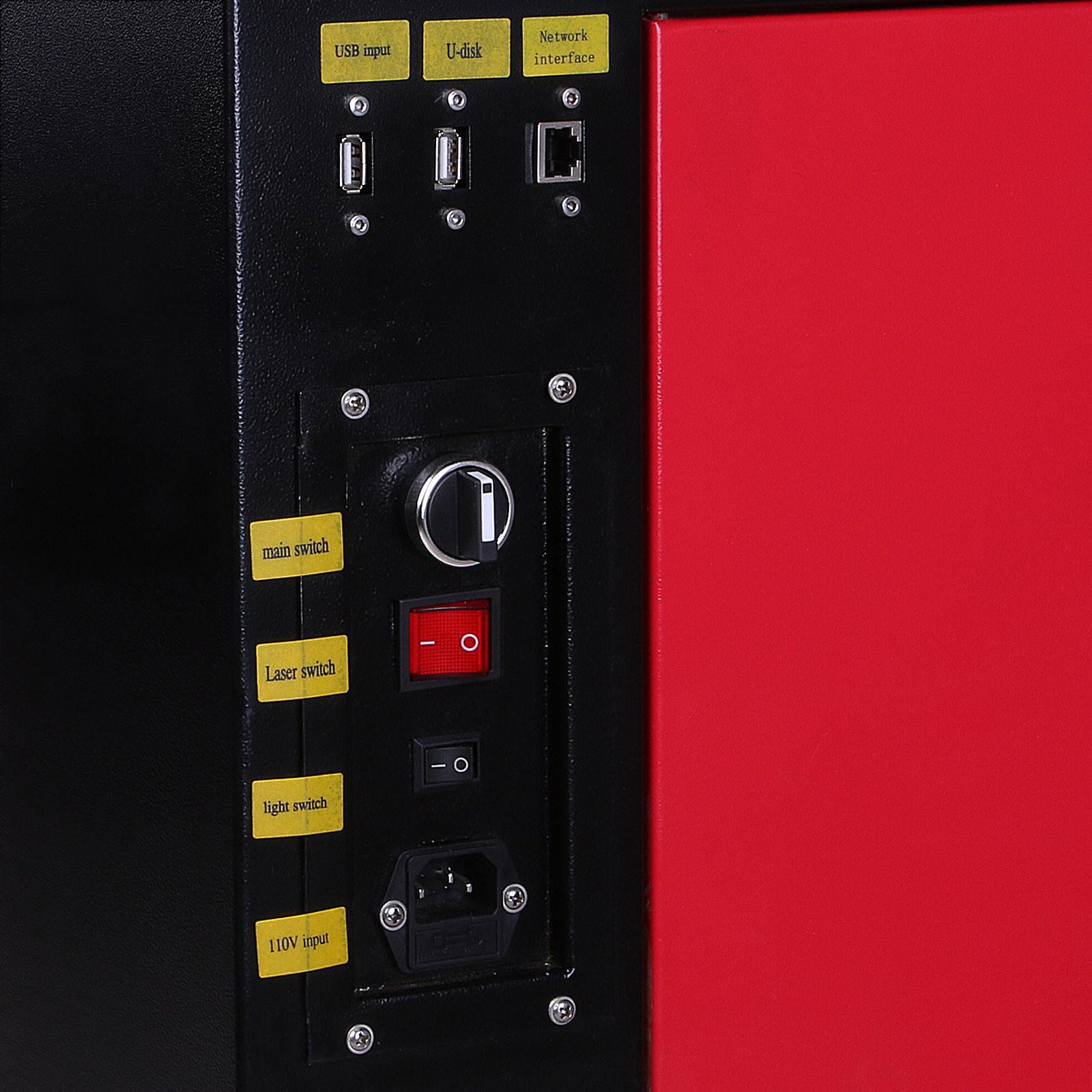 Macchina-per-Incisione-Laser-CO2-40-130W-Asse-Rotante-Tagliatrice-Incisore miniatura 79