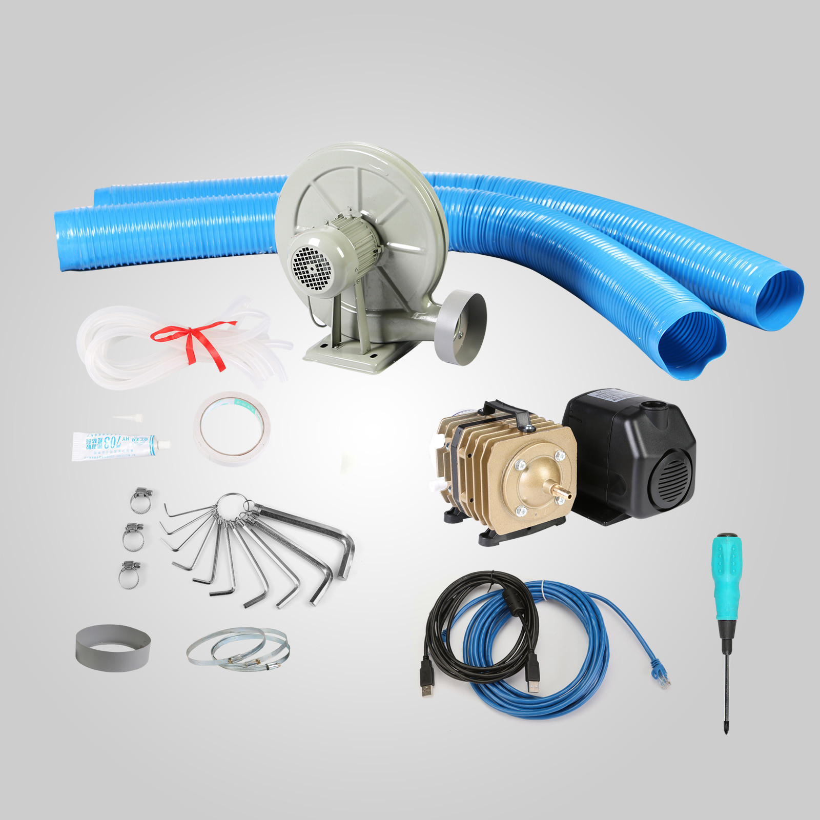 Macchina-per-Incisione-Laser-CO2-40-130W-Asse-Rotante-Tagliatrice-Incisore miniatura 80