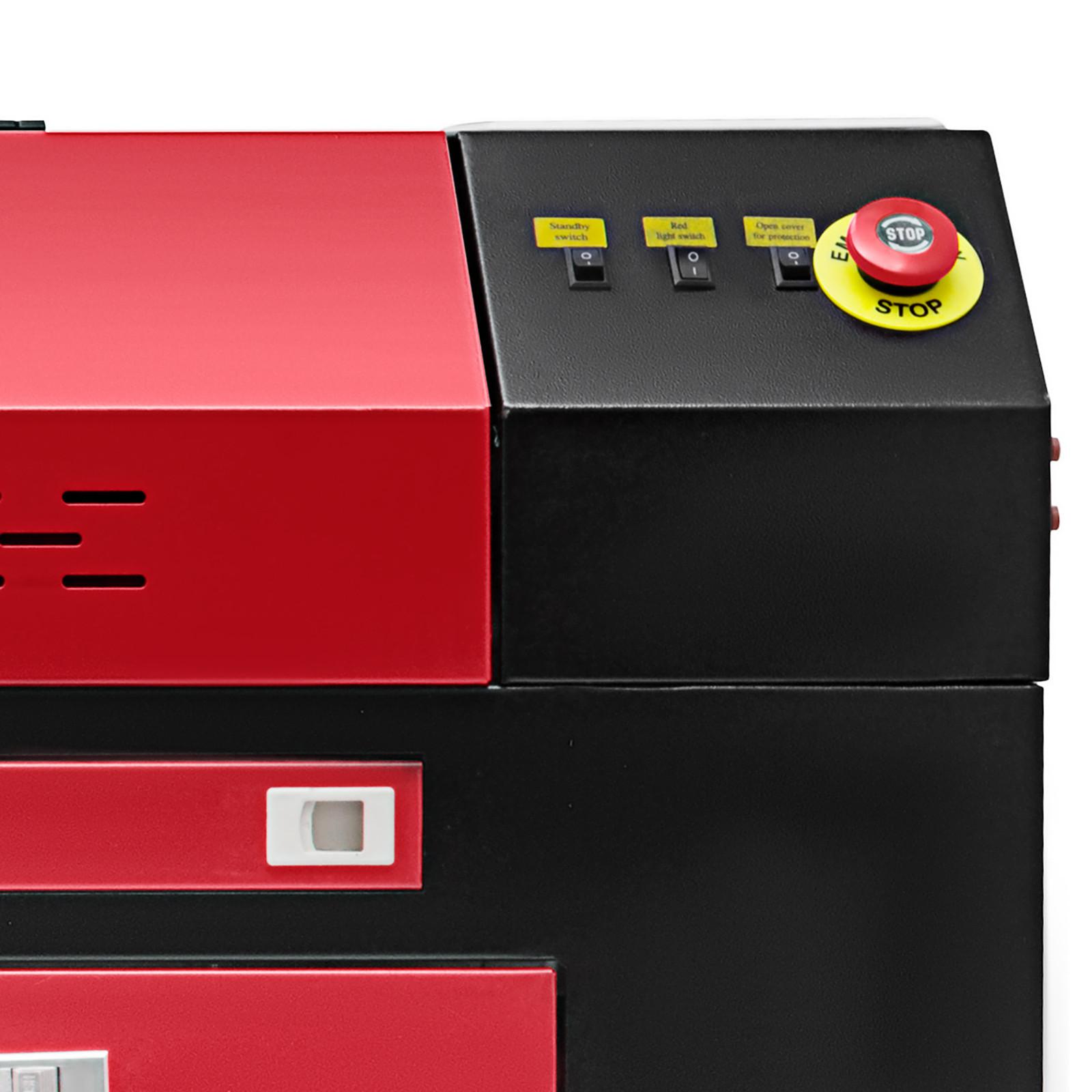Macchina-per-Incisione-Laser-CO2-40-130W-Asse-Rotante-Tagliatrice-Incisore miniatura 57