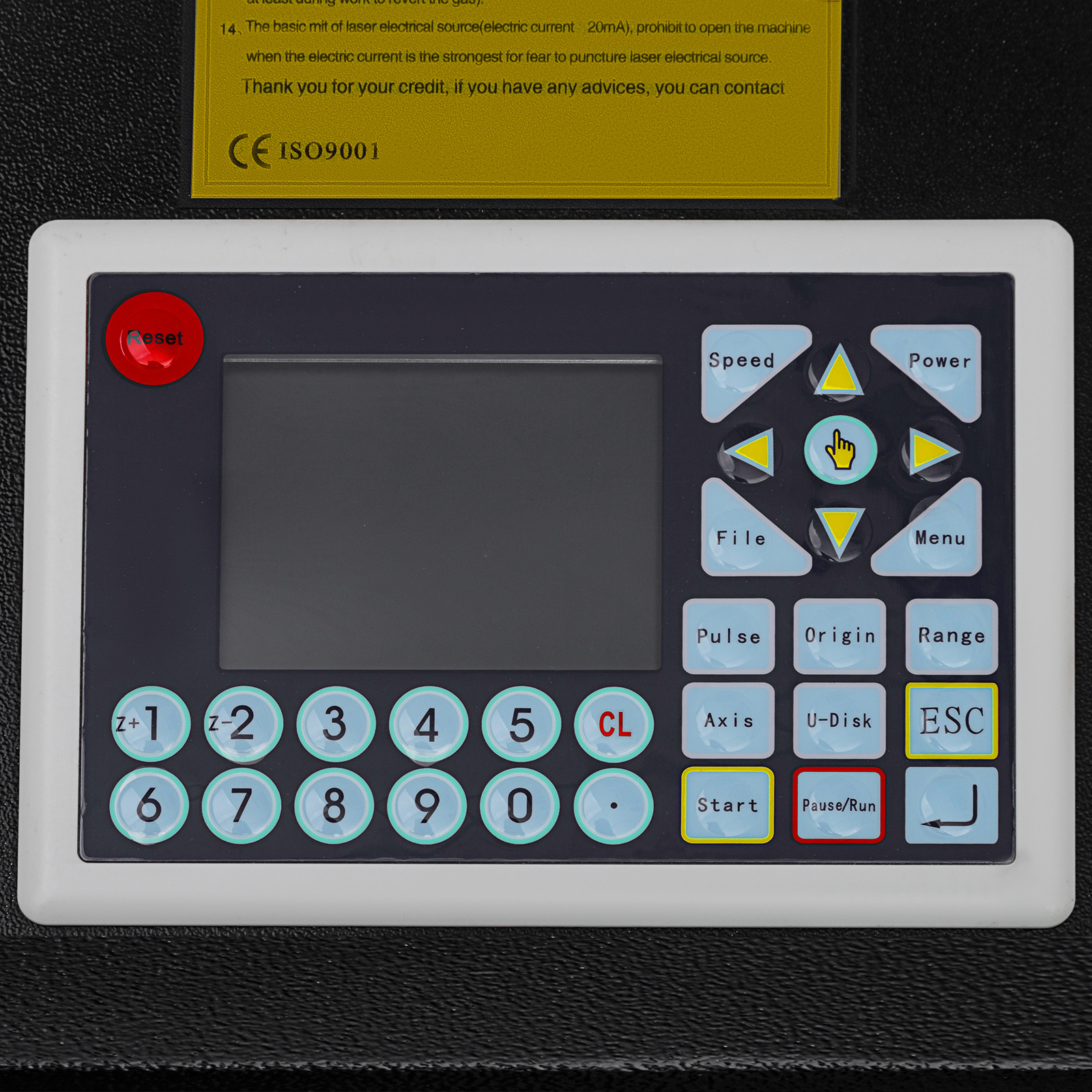 Macchina-per-Incisione-Laser-CO2-40-130W-Asse-Rotante-Tagliatrice-Incisore miniatura 54