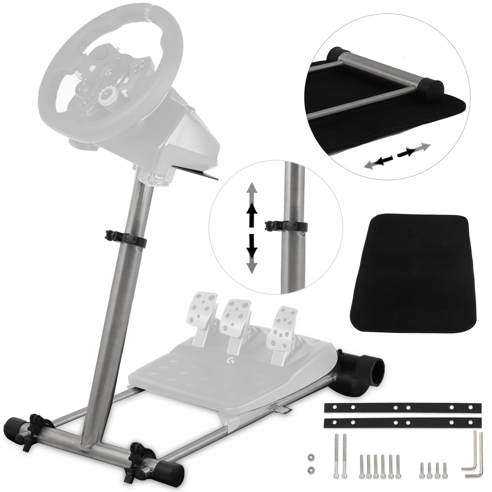 lenkrad st nder thrustmaster wheel stand logitech driving. Black Bedroom Furniture Sets. Home Design Ideas
